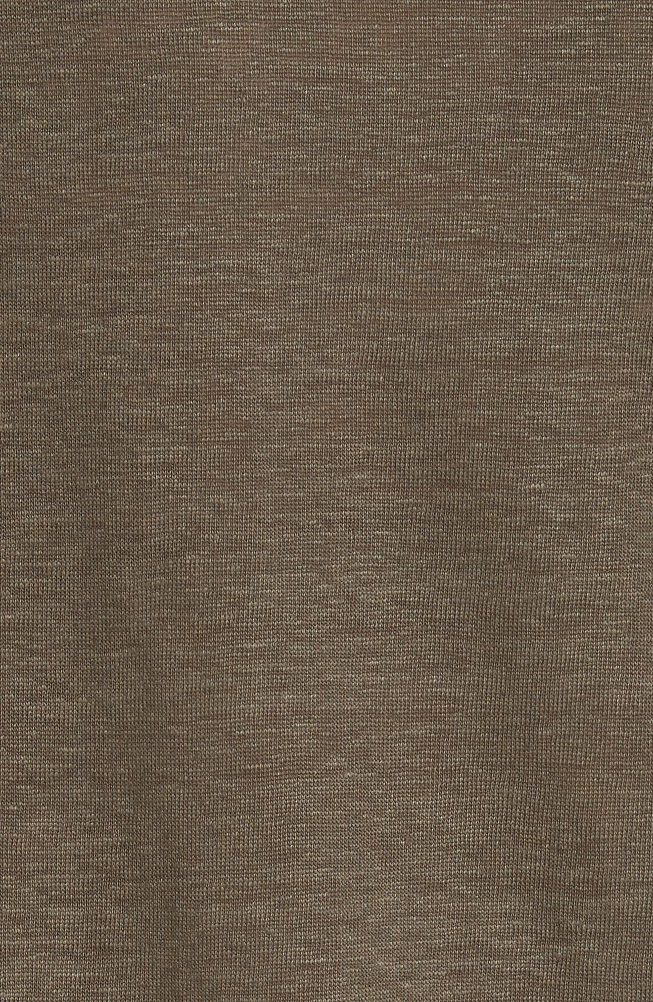Linen Short Sleeve Top,                             Alternate thumbnail 10, color,