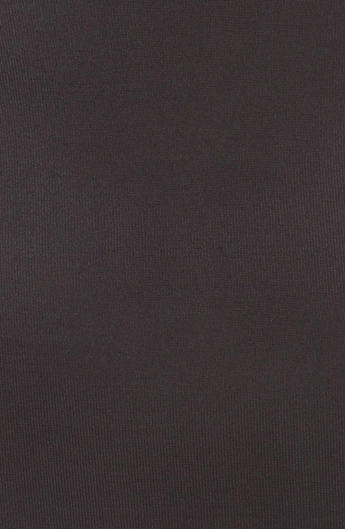 Torsette Underbust Mid Thigh Bodysuit Shaper,                             Alternate thumbnail 6, color,                             BLACK