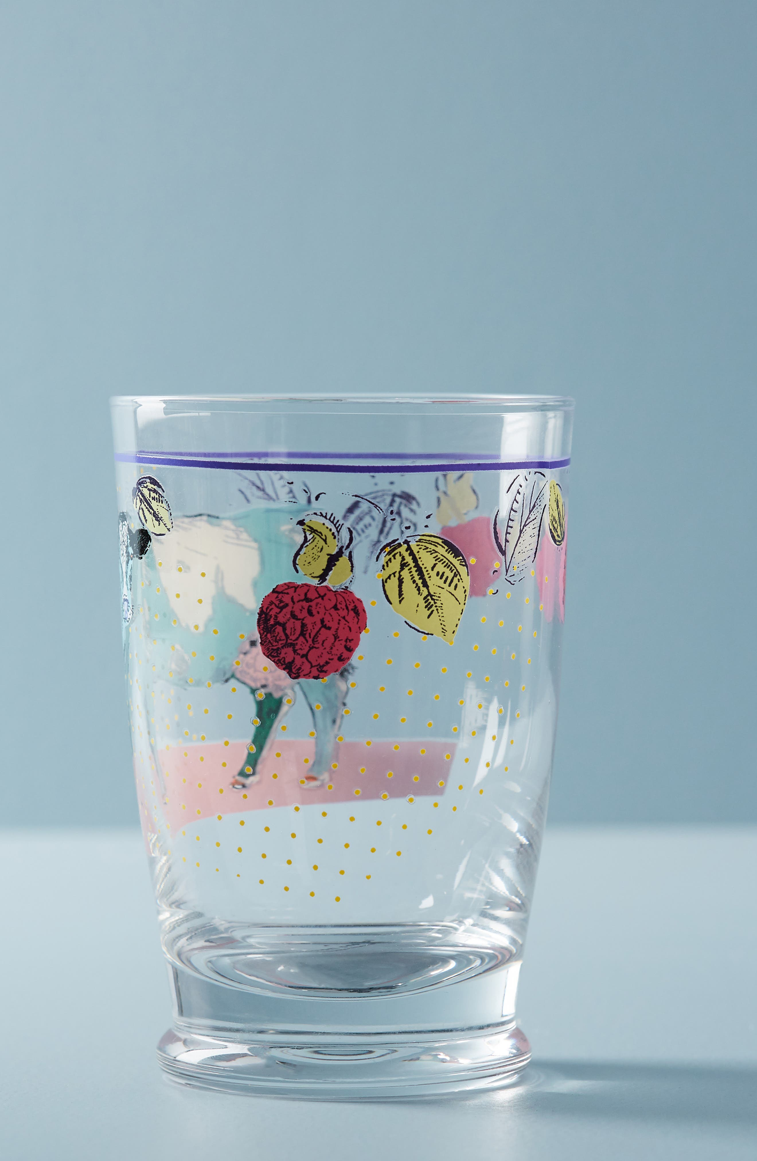 Lorena Marañon Juice Glass,                             Alternate thumbnail 3, color,                             COW
