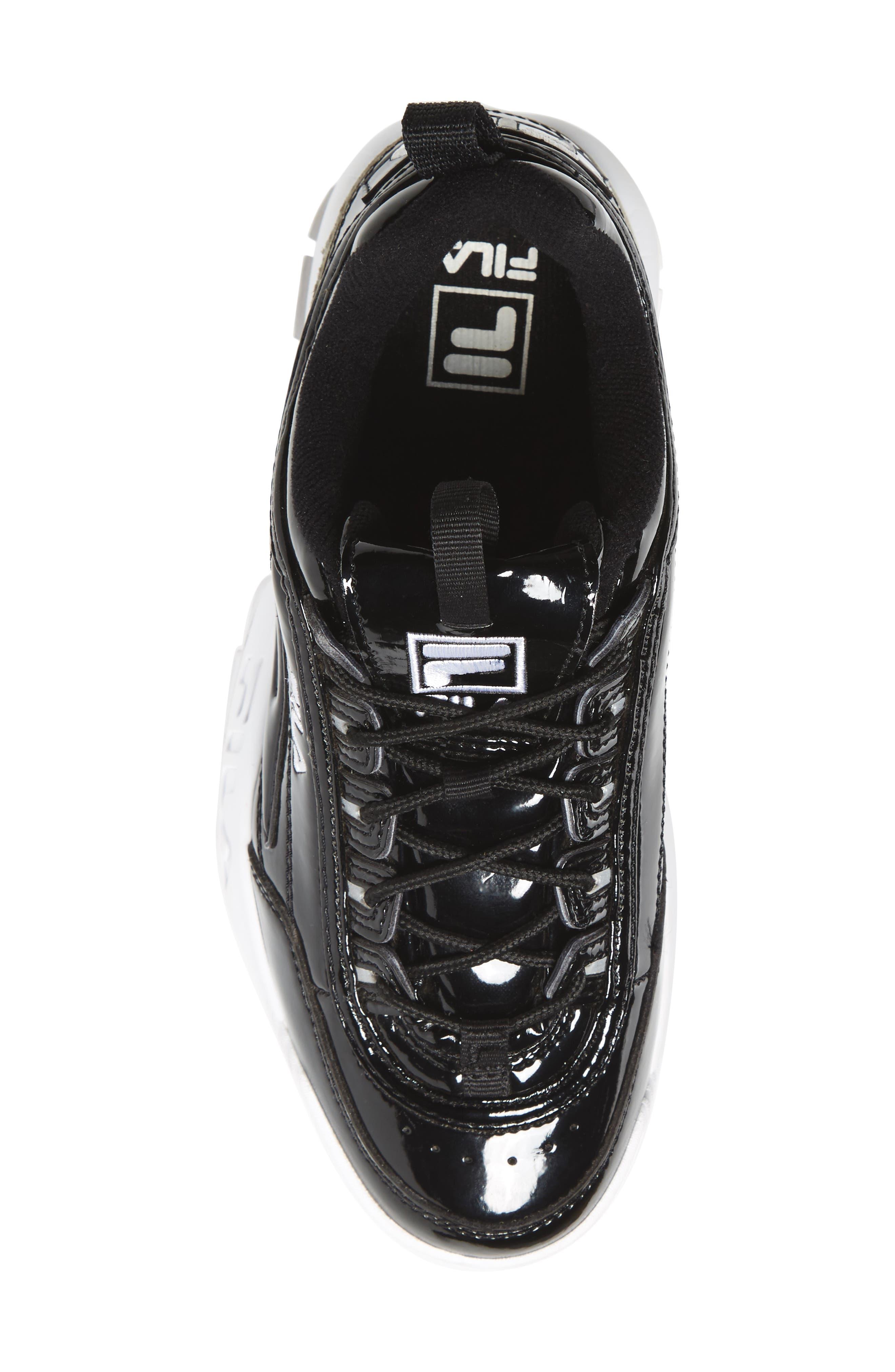 Disruptor II Premium Patent Sneaker,                             Alternate thumbnail 5, color,                             014