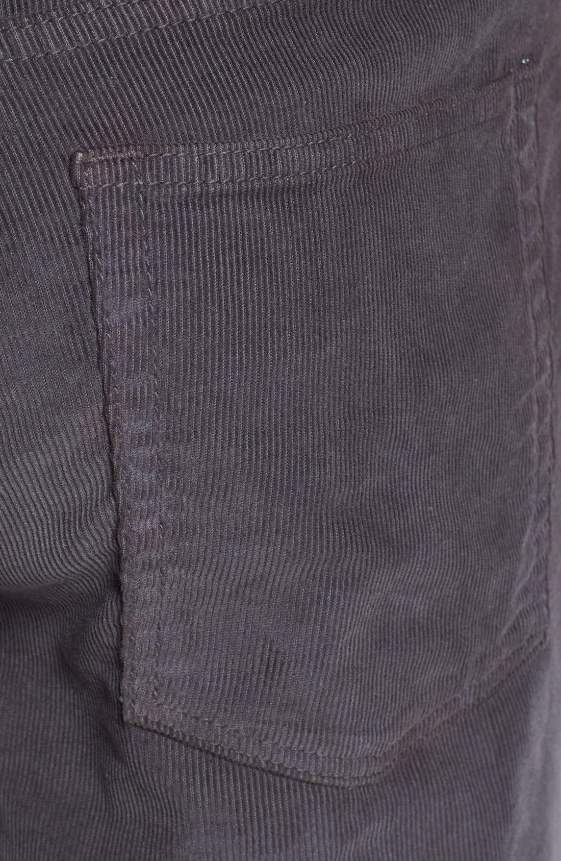 BONOBOS,                             Straight Leg Five-Pocket Corduroy Pants,                             Alternate thumbnail 4, color,                             020