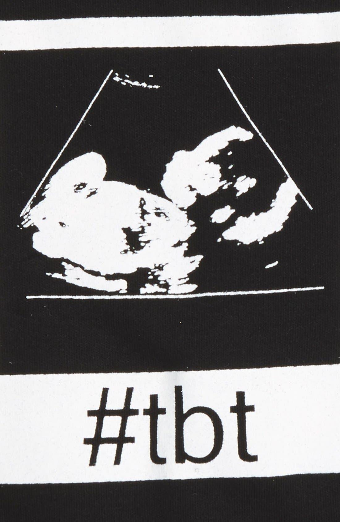 #TBT Bodysuit,                             Alternate thumbnail 2, color,                             BLACK