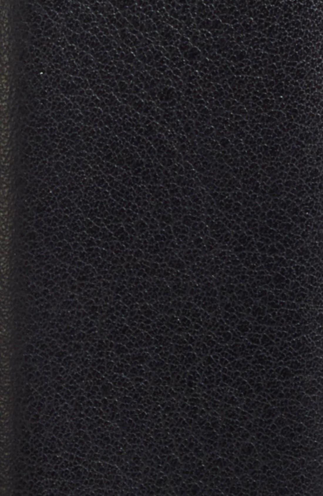 Tubular Leather Belt,                             Alternate thumbnail 3, color,