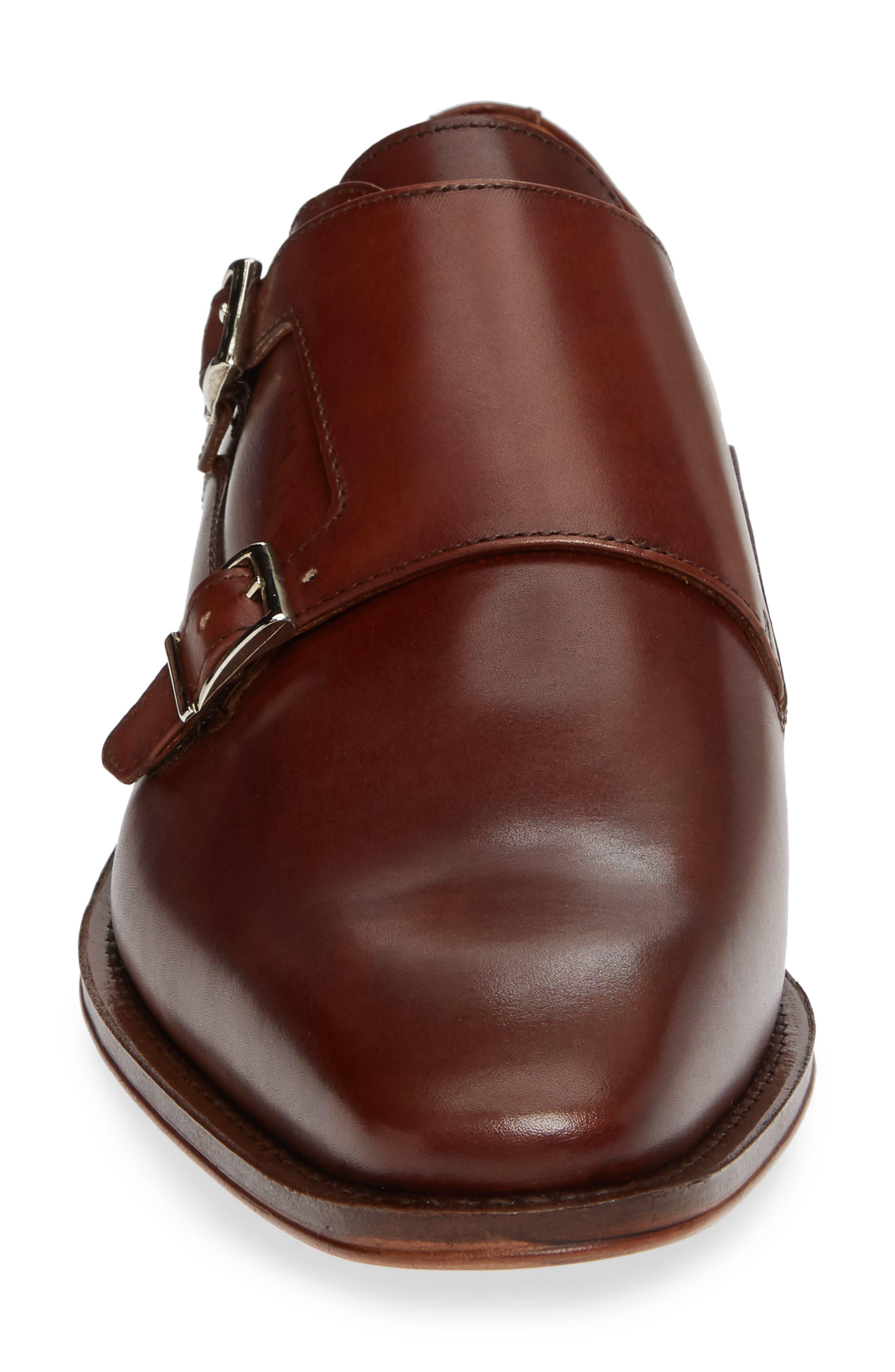 Trento Double Monk Strap Shoe,                             Alternate thumbnail 4, color,                             236