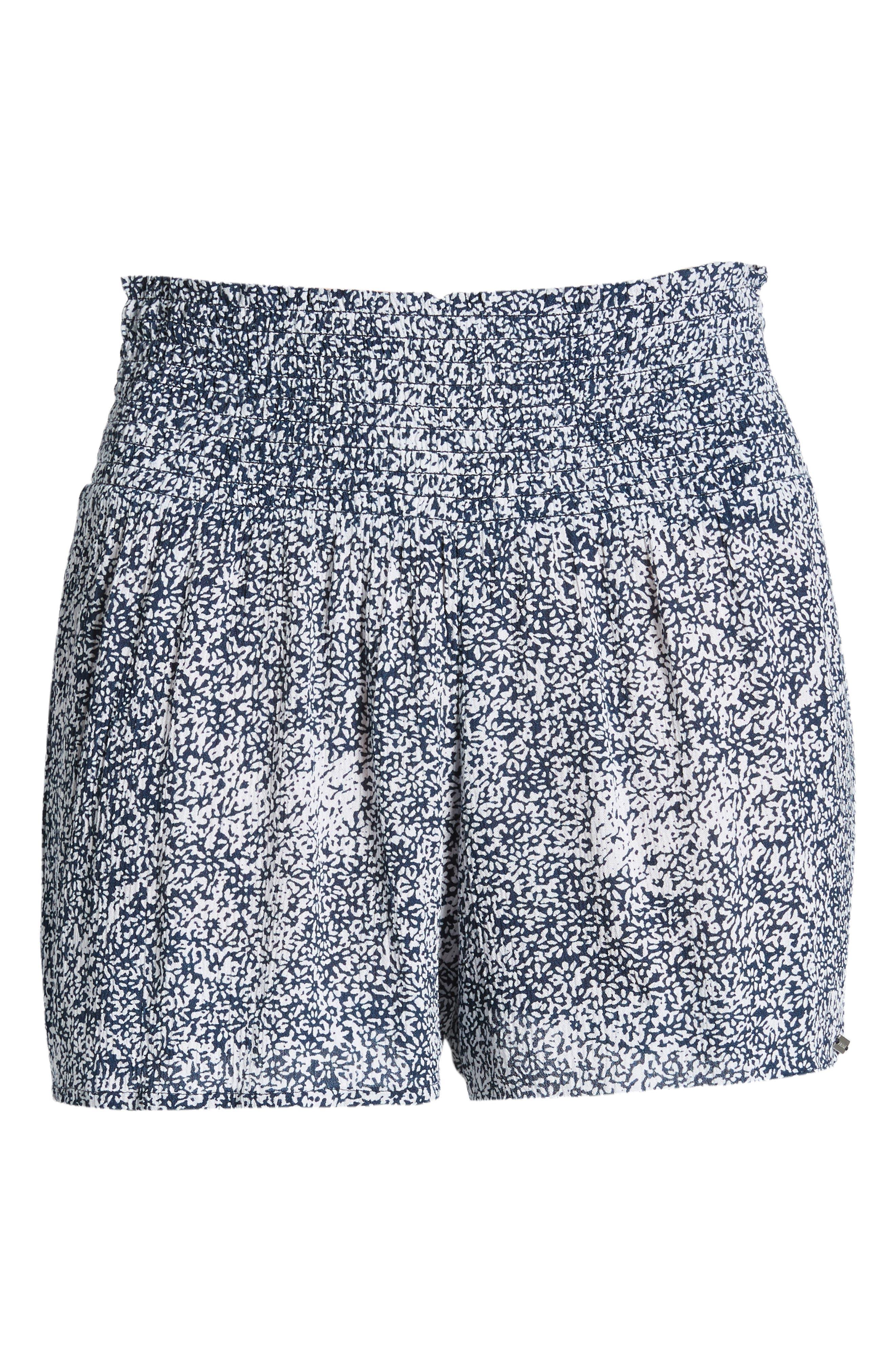 She's So Daisy Smock Waist Shorts,                             Alternate thumbnail 6, color,                             415