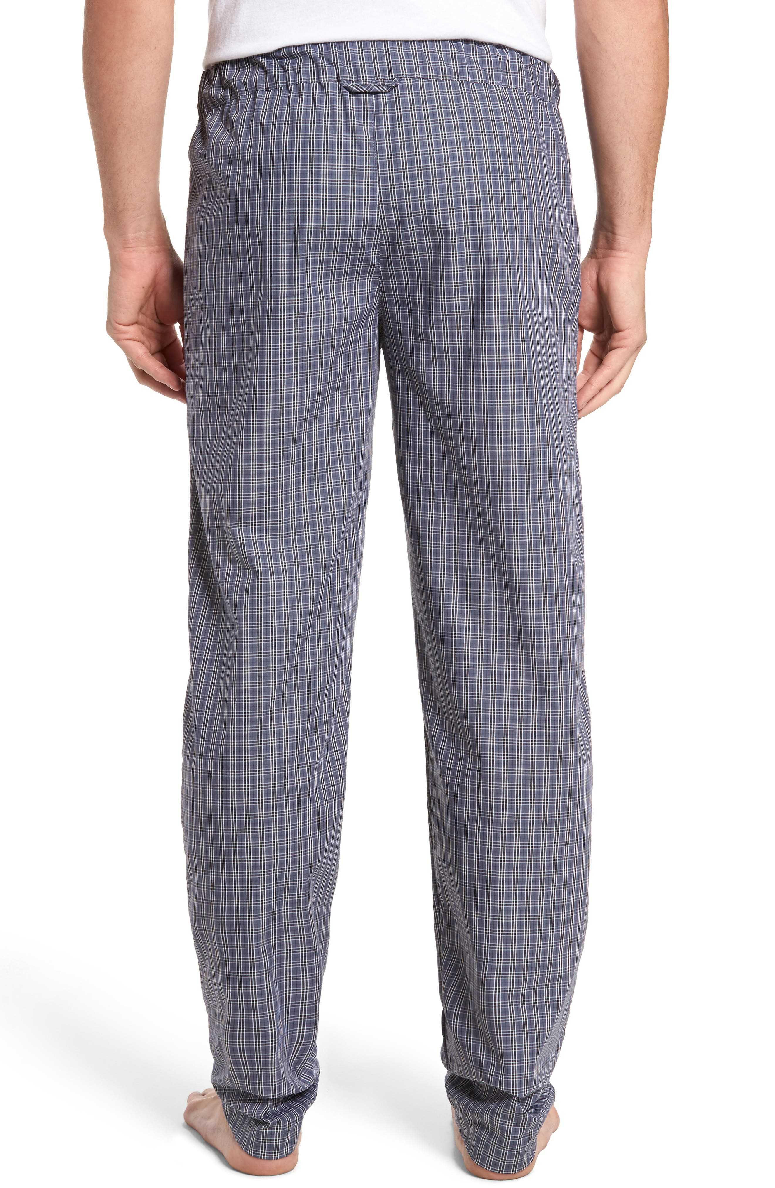 Night & Day Woven Lounge Pants,                             Alternate thumbnail 2, color,                             GREY CHECK