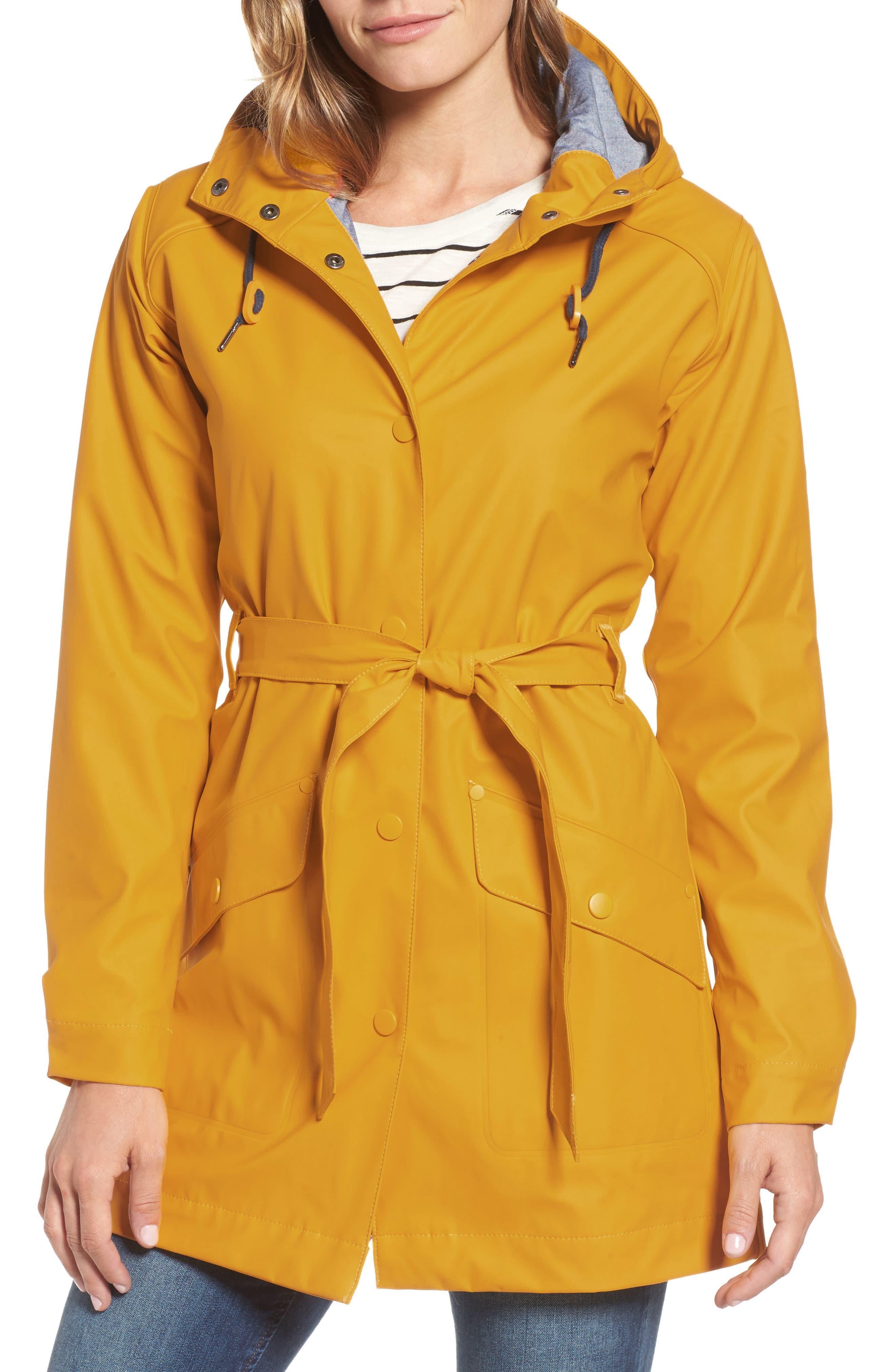 Kirkwall Raincoat,                         Main,                         color, ESSENTIAL YELLOW