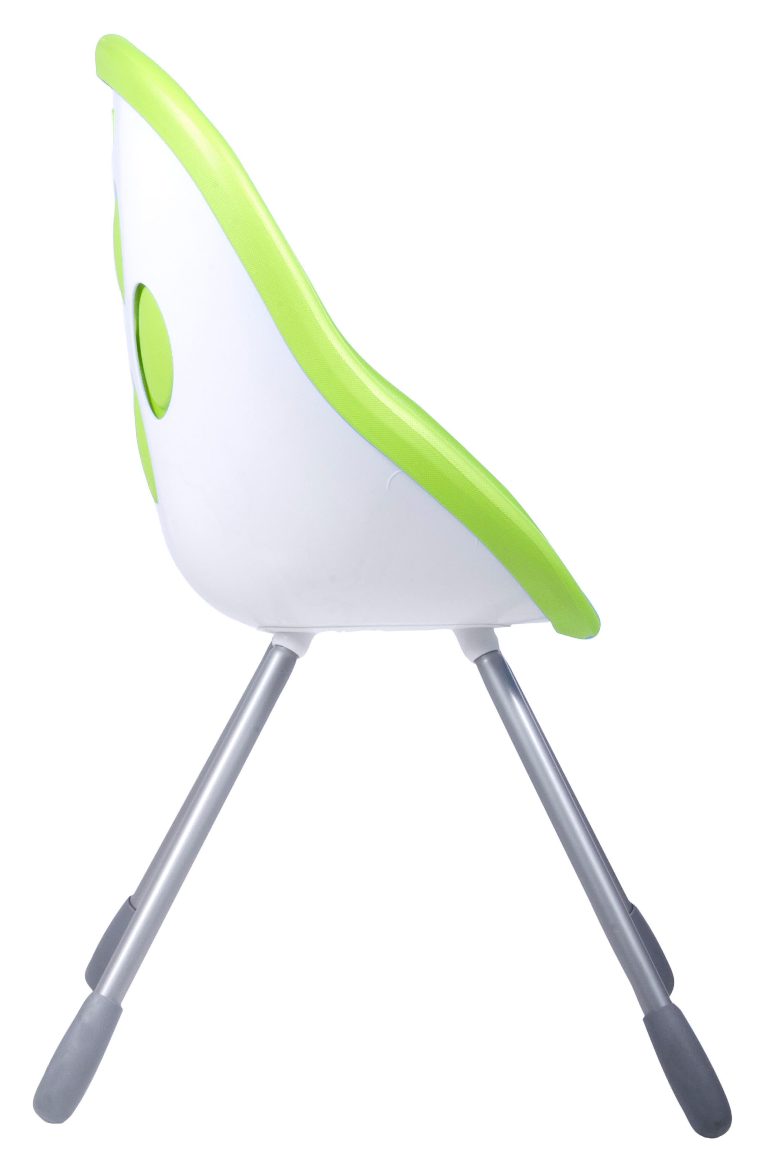 Poppy High Chair,                             Alternate thumbnail 3, color,                             LIME