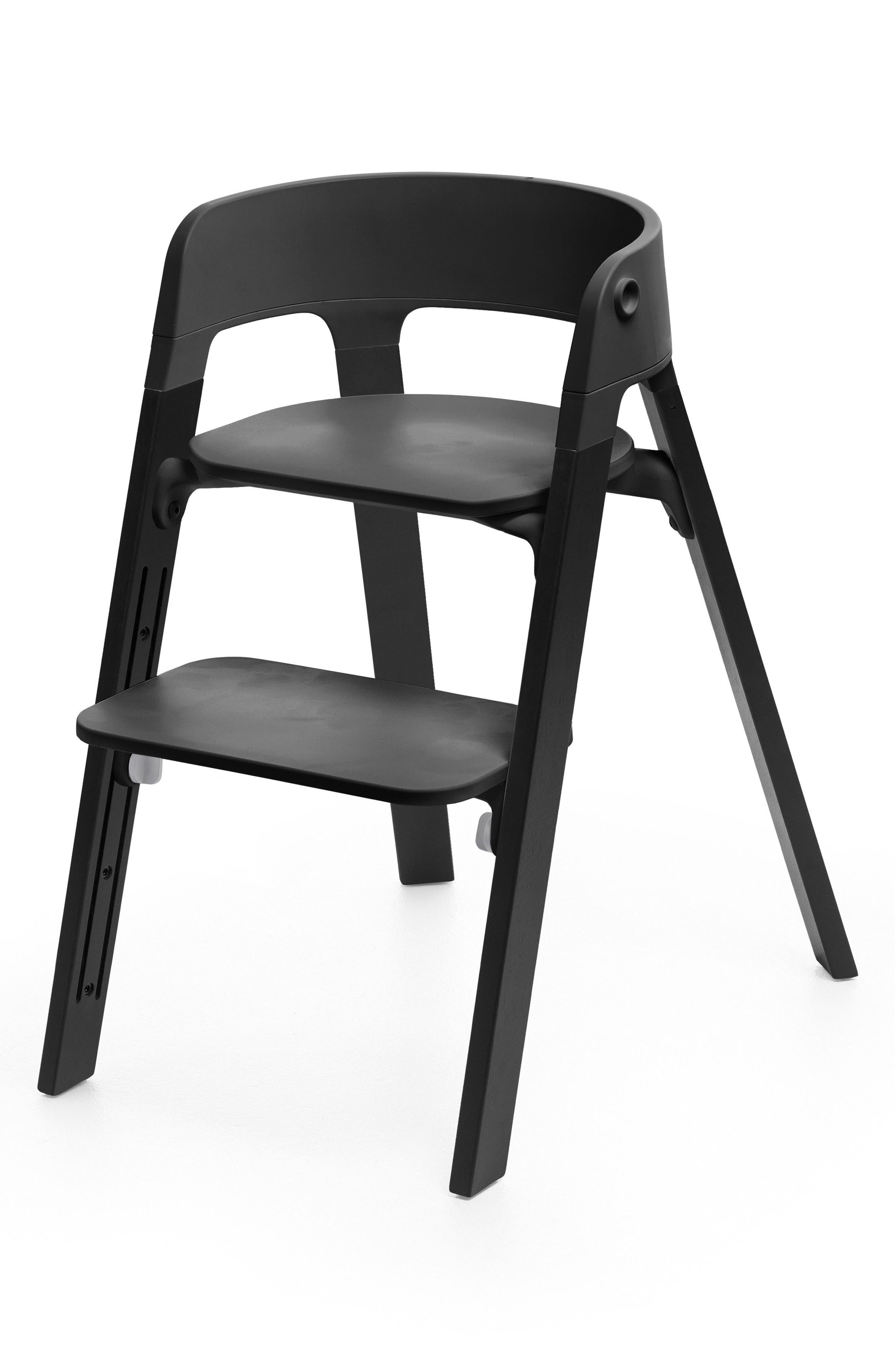 Steps<sup>™</sup> Chair,                             Main thumbnail 1, color,                             BLACK OAK WITH BLACK SEAT