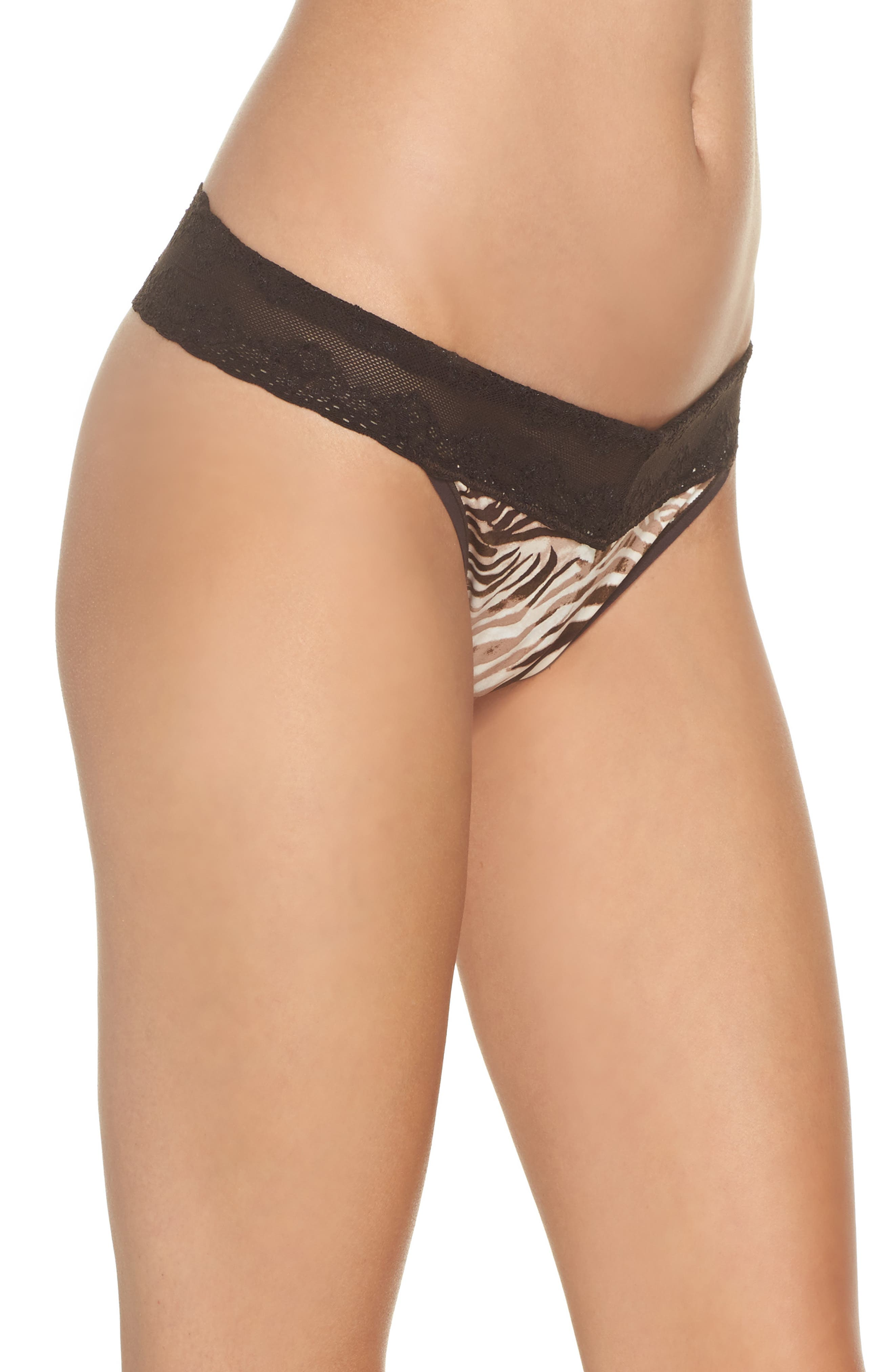 Bliss Perfection Thong,                             Alternate thumbnail 203, color,