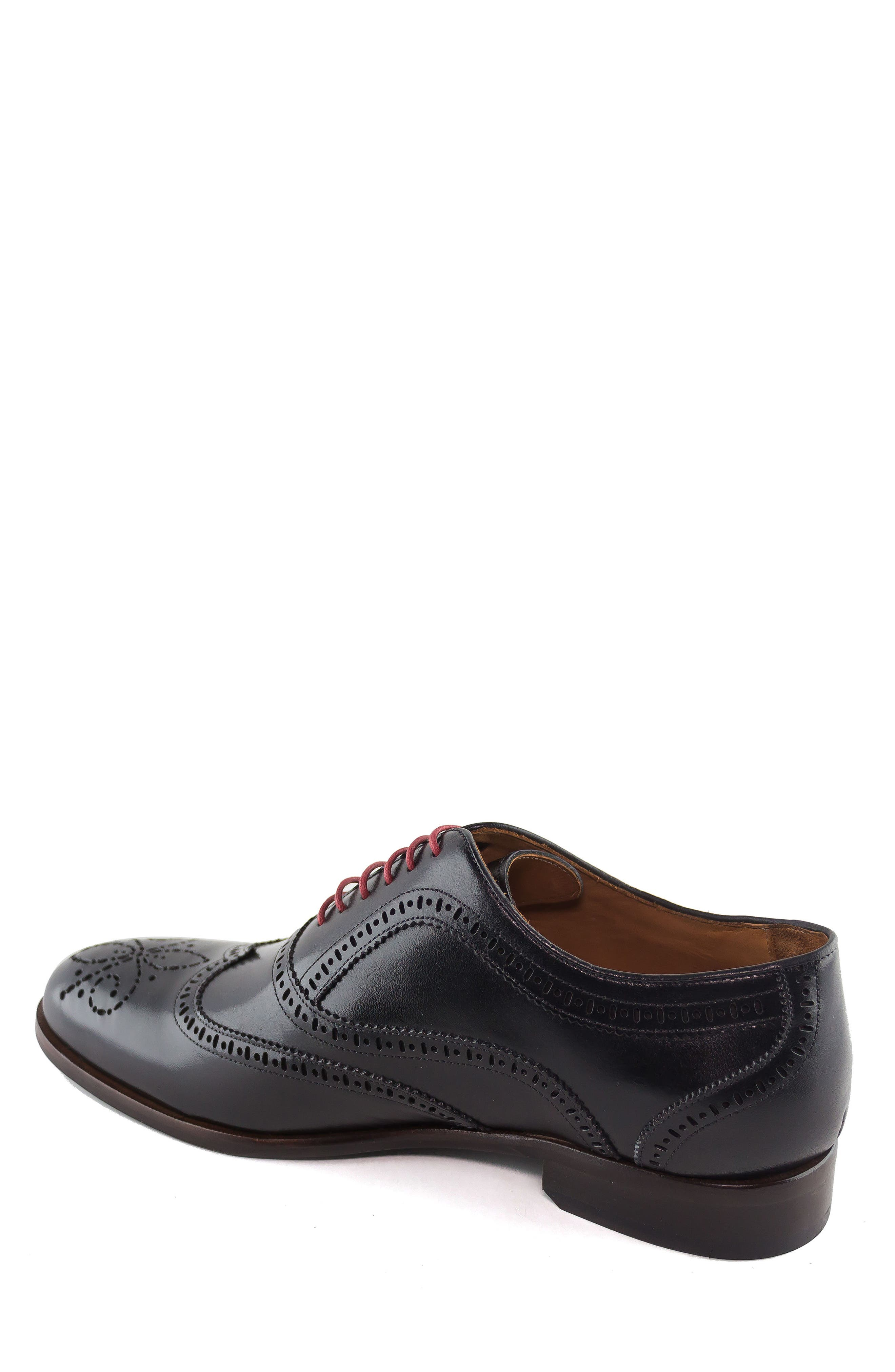 Madison Wingtip Oxford,                             Alternate thumbnail 2, color,                             BLACK