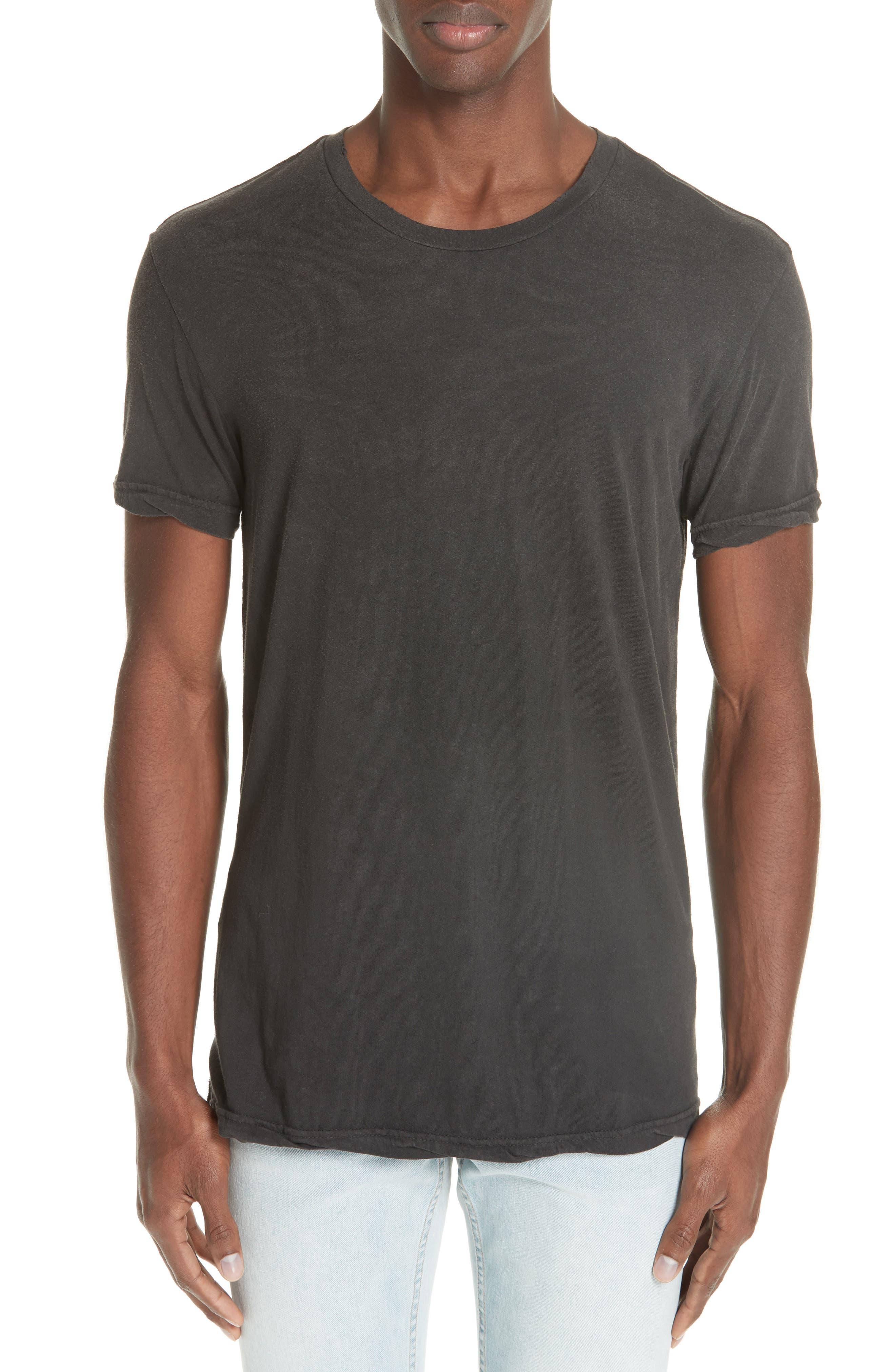 Faded T-Shirt,                         Main,                         color, BLACK