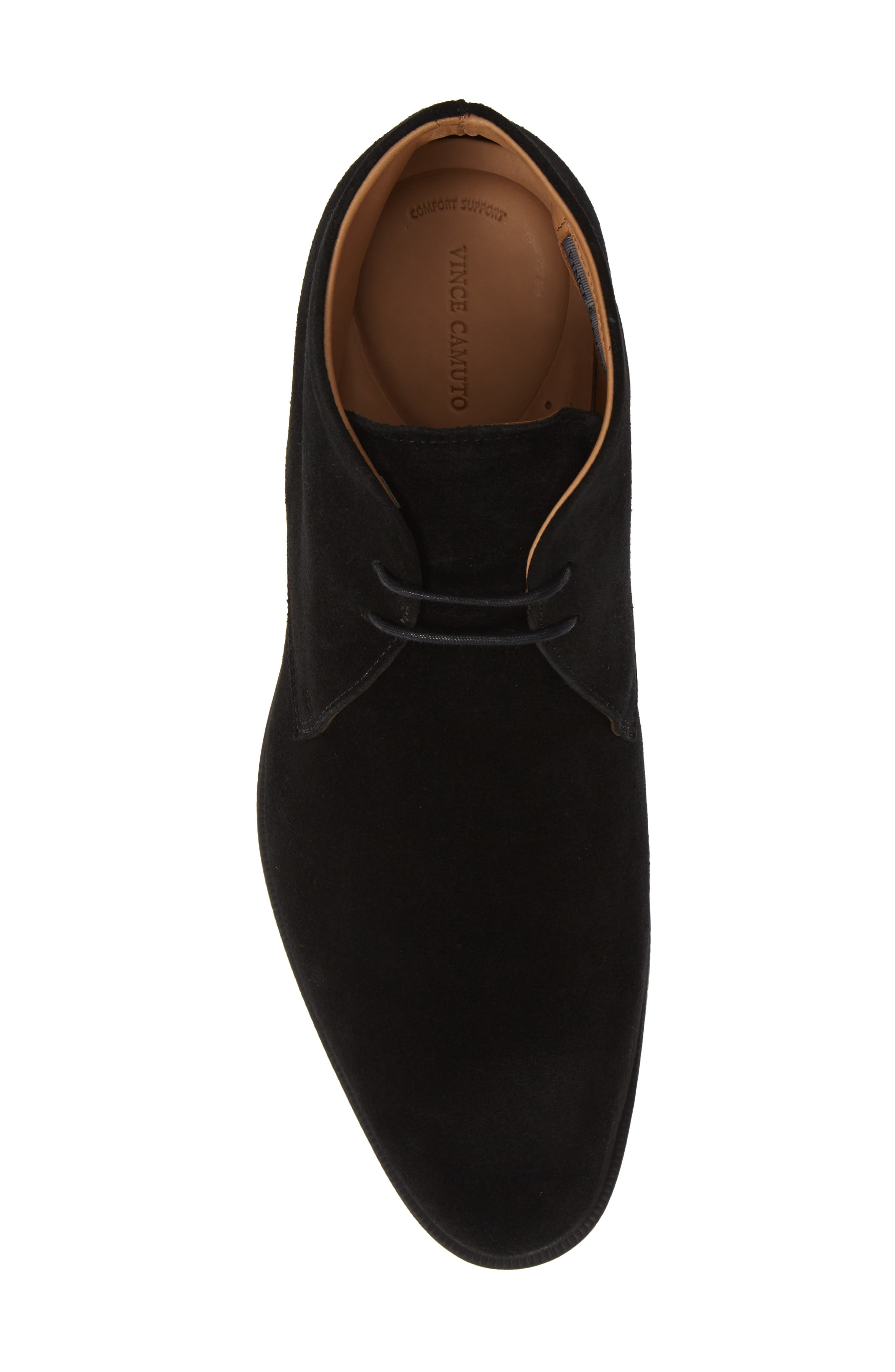 Iden Chukka Boot,                             Alternate thumbnail 5, color,                             BLACK SUEDE