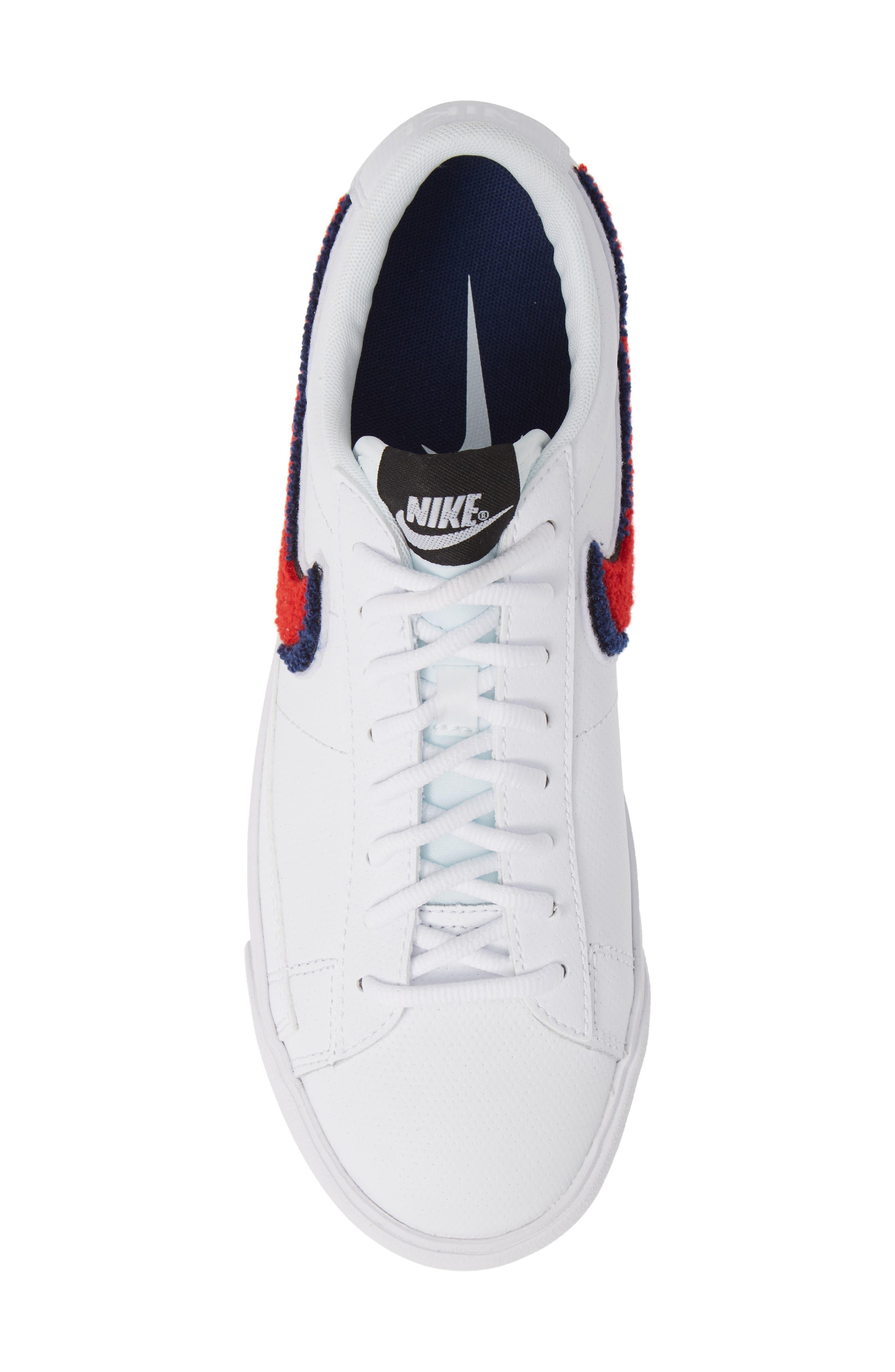 Blazer Low 3D Sneaker,                             Alternate thumbnail 5, color,                             100