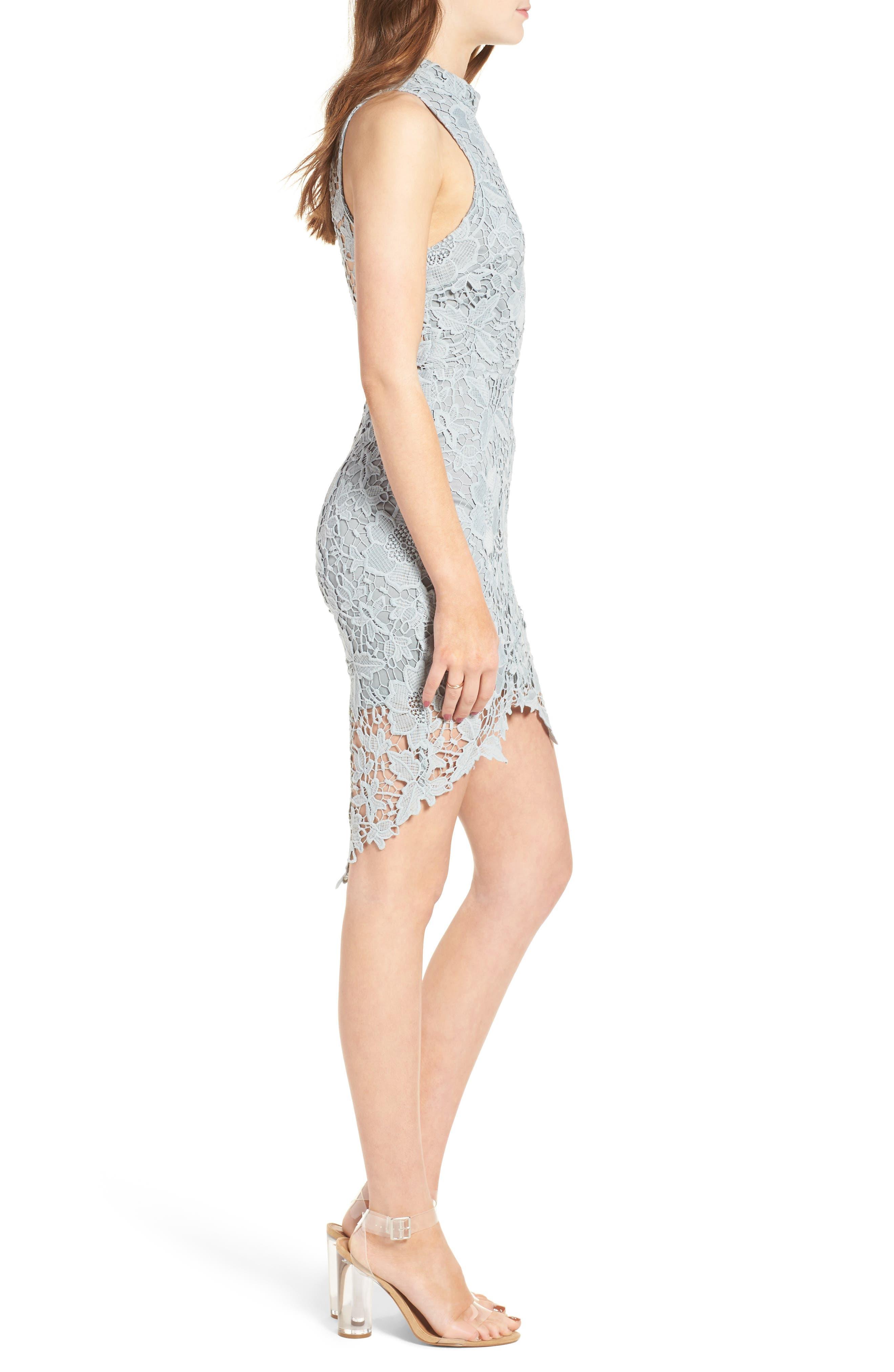 'Samantha' Lace Dress,                             Alternate thumbnail 19, color,