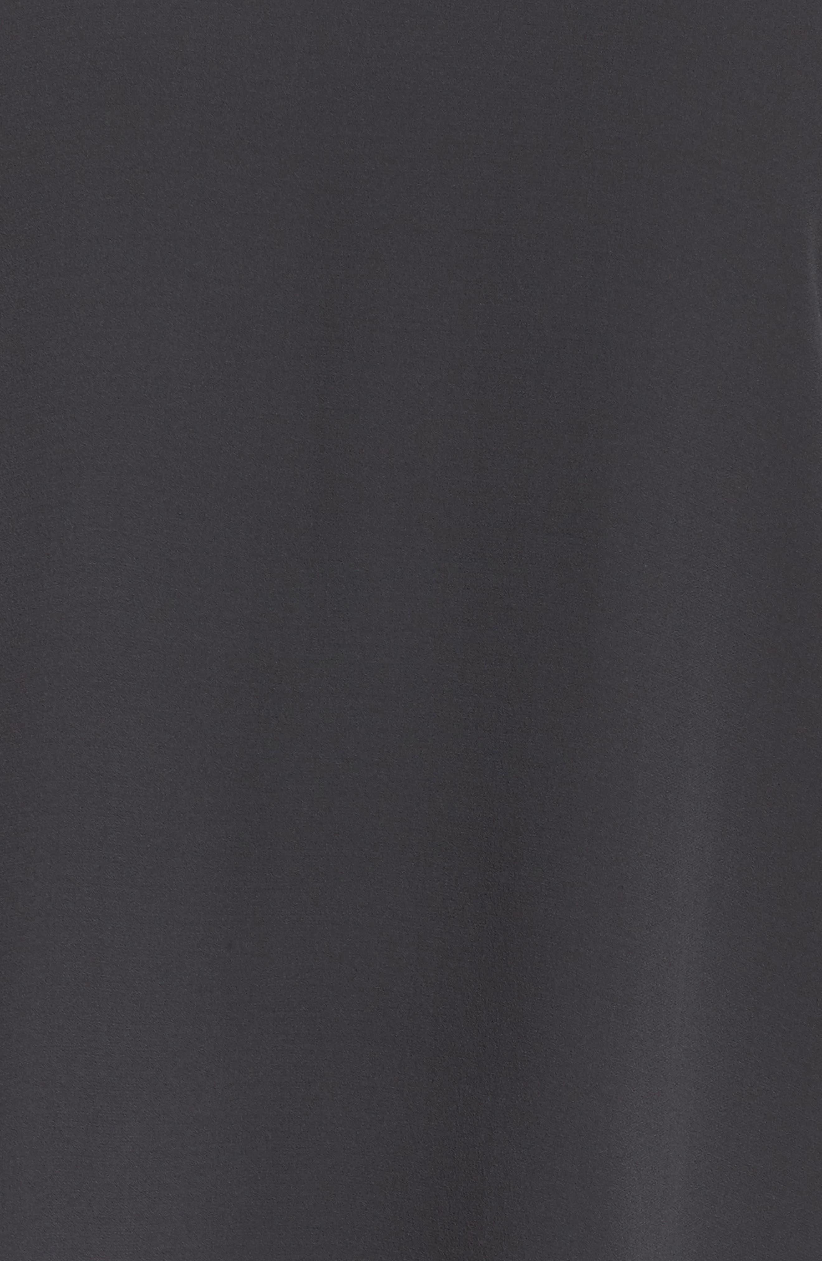 Ruffled Sleeve Silk Top,                             Alternate thumbnail 6, color,                             025