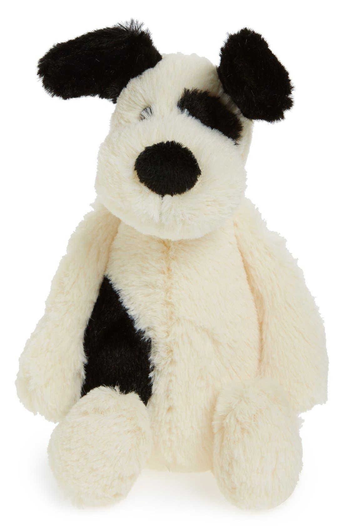 'Small Bashful Puppy' Stuffed Animal,                             Main thumbnail 1, color,                             CREAM