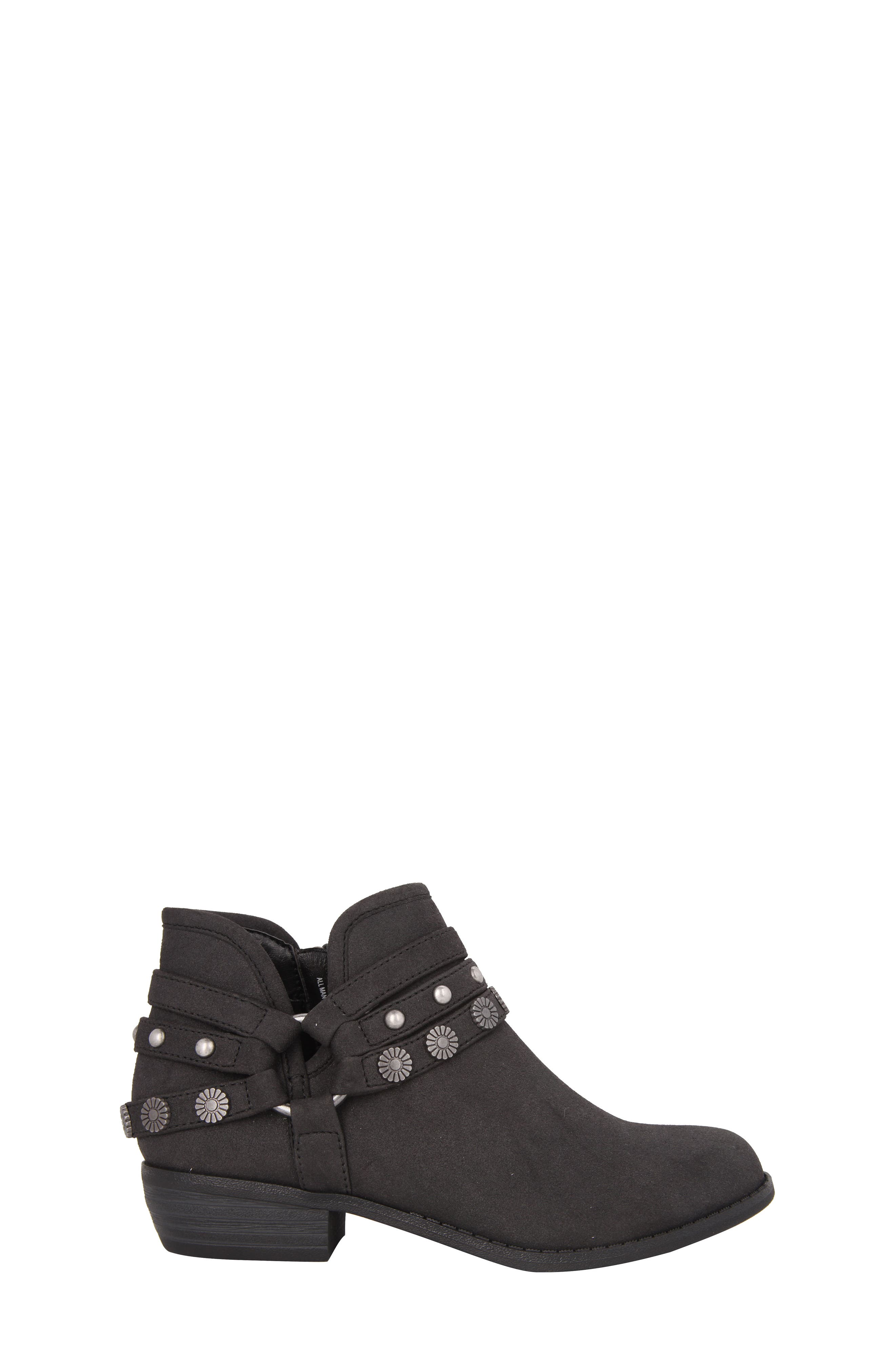Zoe Strappy Low Bootie,                             Alternate thumbnail 3, color,                             003