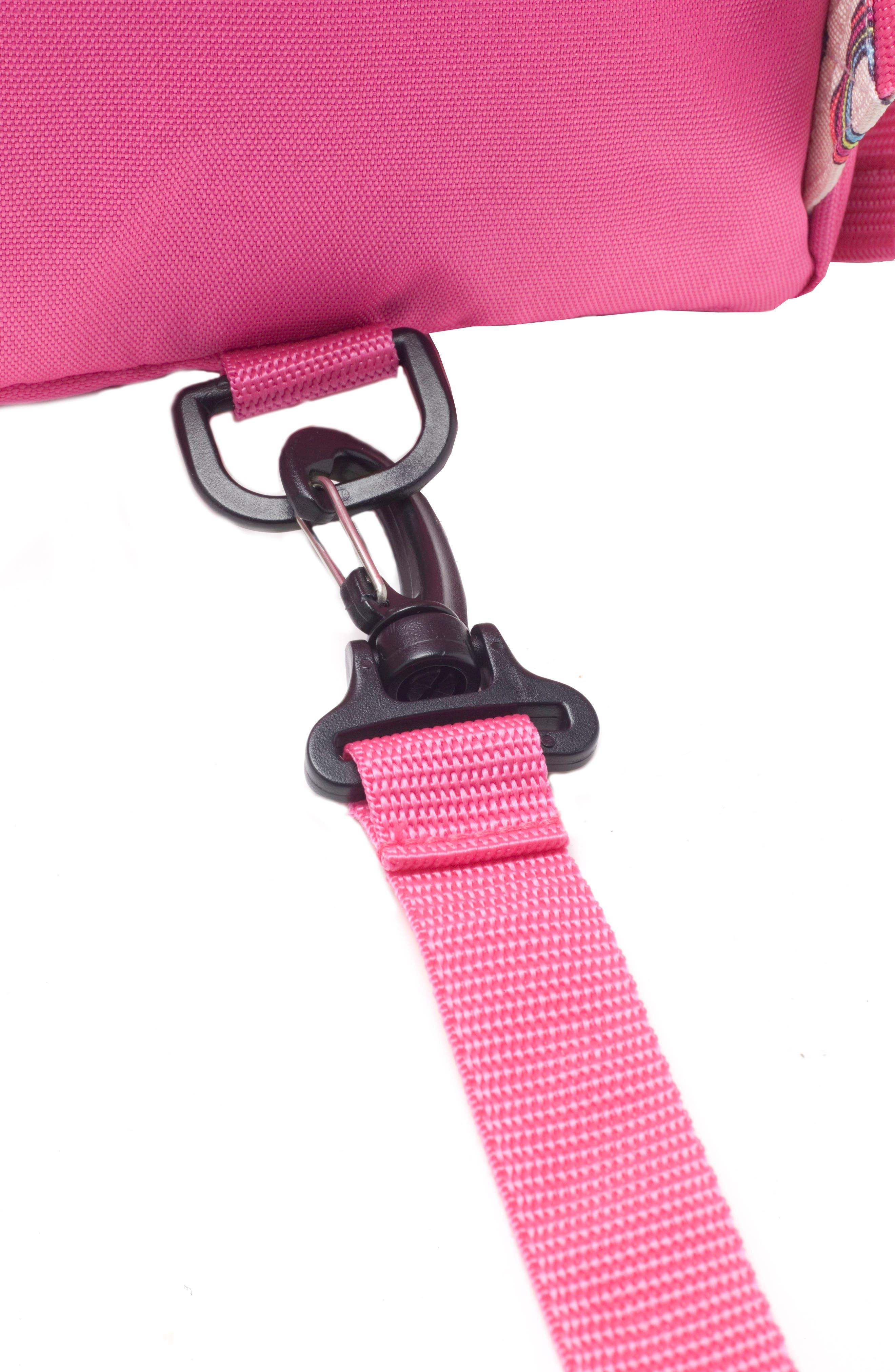 BABYMEL,                             Zip & Zoe Unicorn Mini Backpack,                             Alternate thumbnail 5, color,                             UNICORN