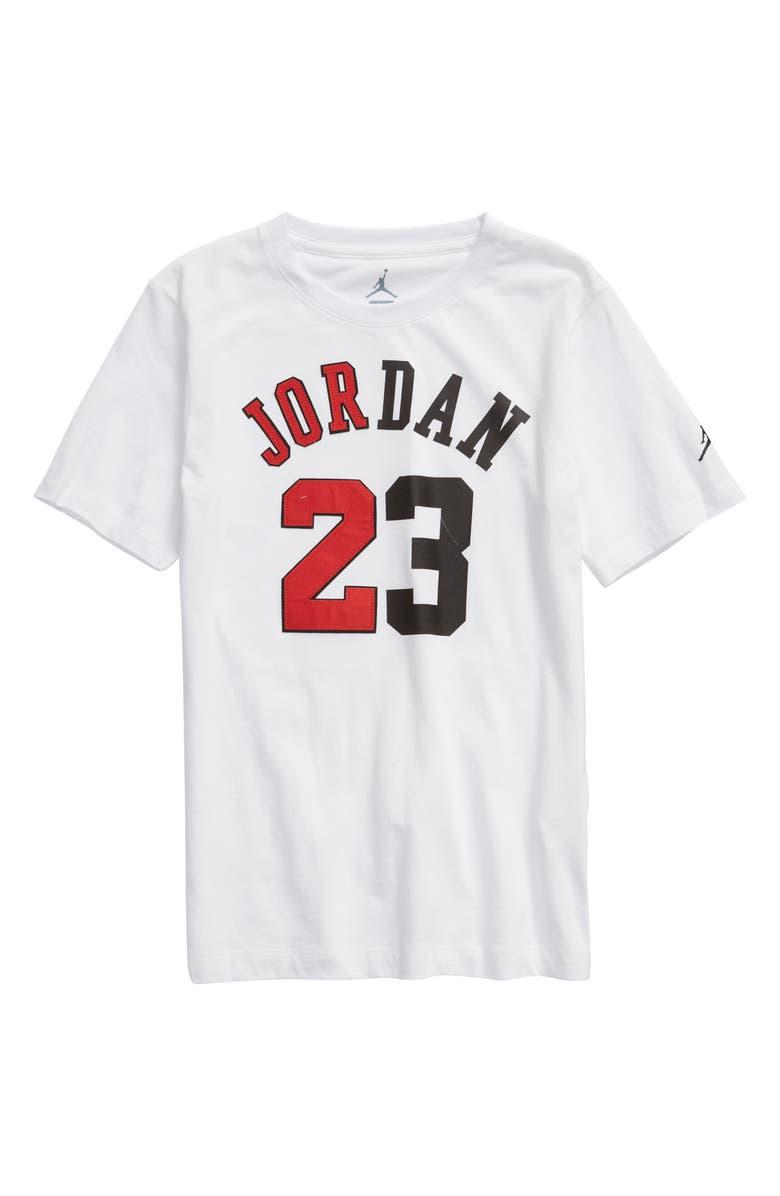 475e76416ae18d Jordan Flight History Graphic T-Shirt (Big Boys)