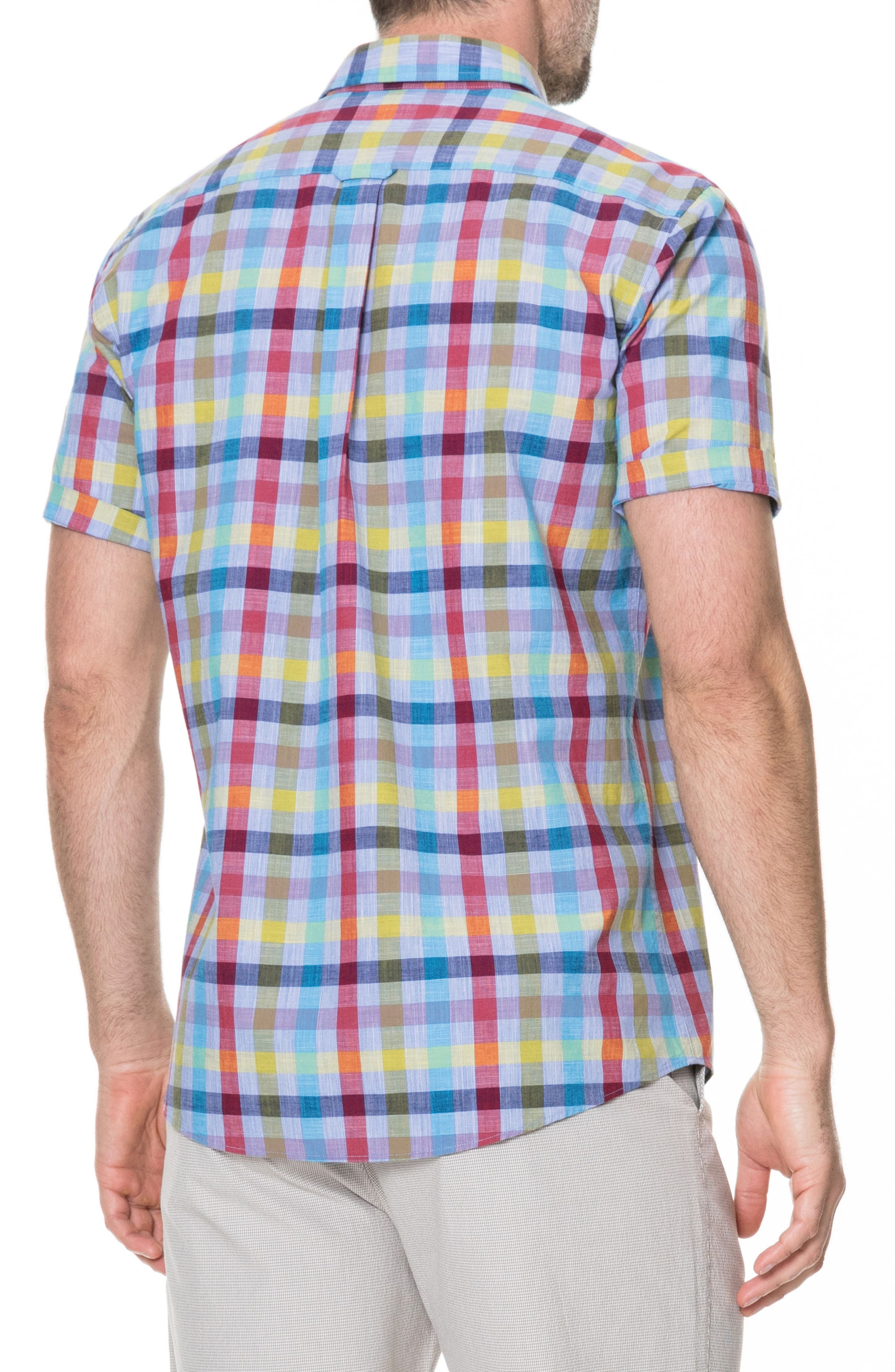 Alpers Regular Fit Sport Shirt,                             Alternate thumbnail 2, color,                             452