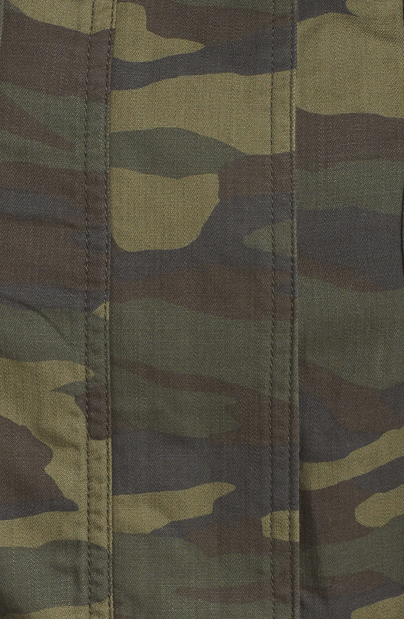 Utility Vest,                             Alternate thumbnail 7, color,                             OLIVE LG CAMO PRT