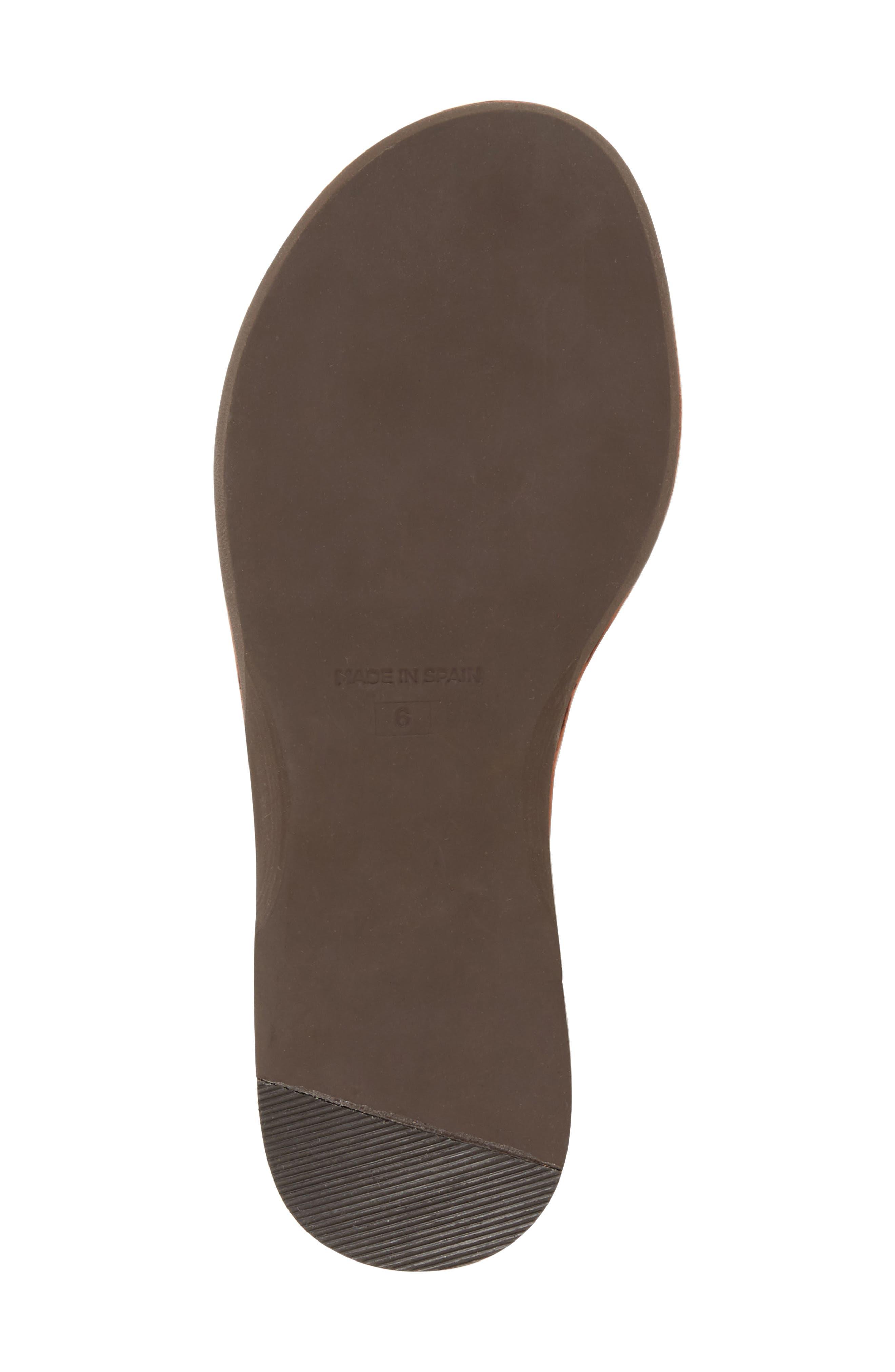 Bronte Tassel Lace-Up Sandal,                             Alternate thumbnail 8, color,