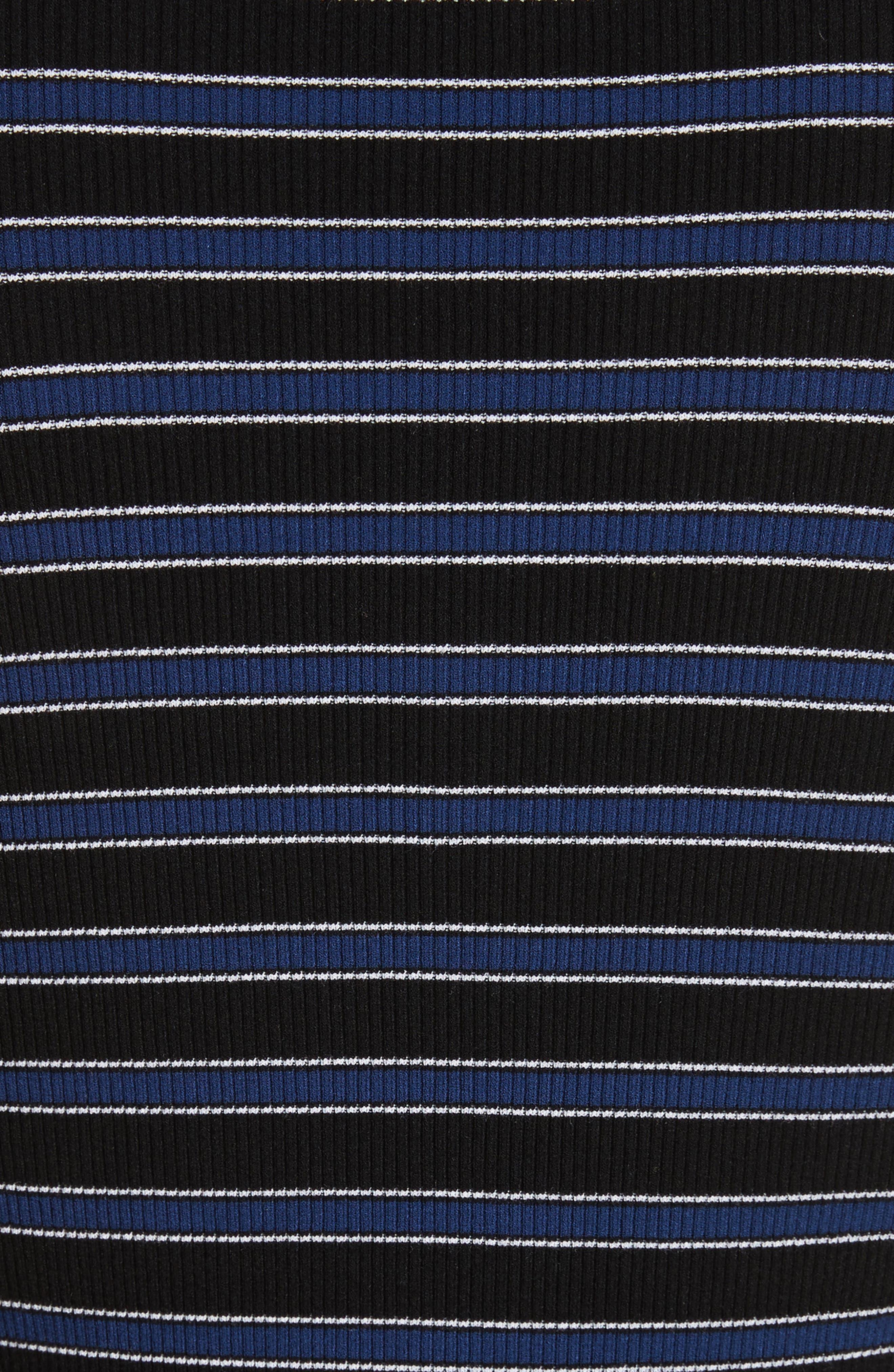 Stripe Top,                             Alternate thumbnail 5, color,                             489