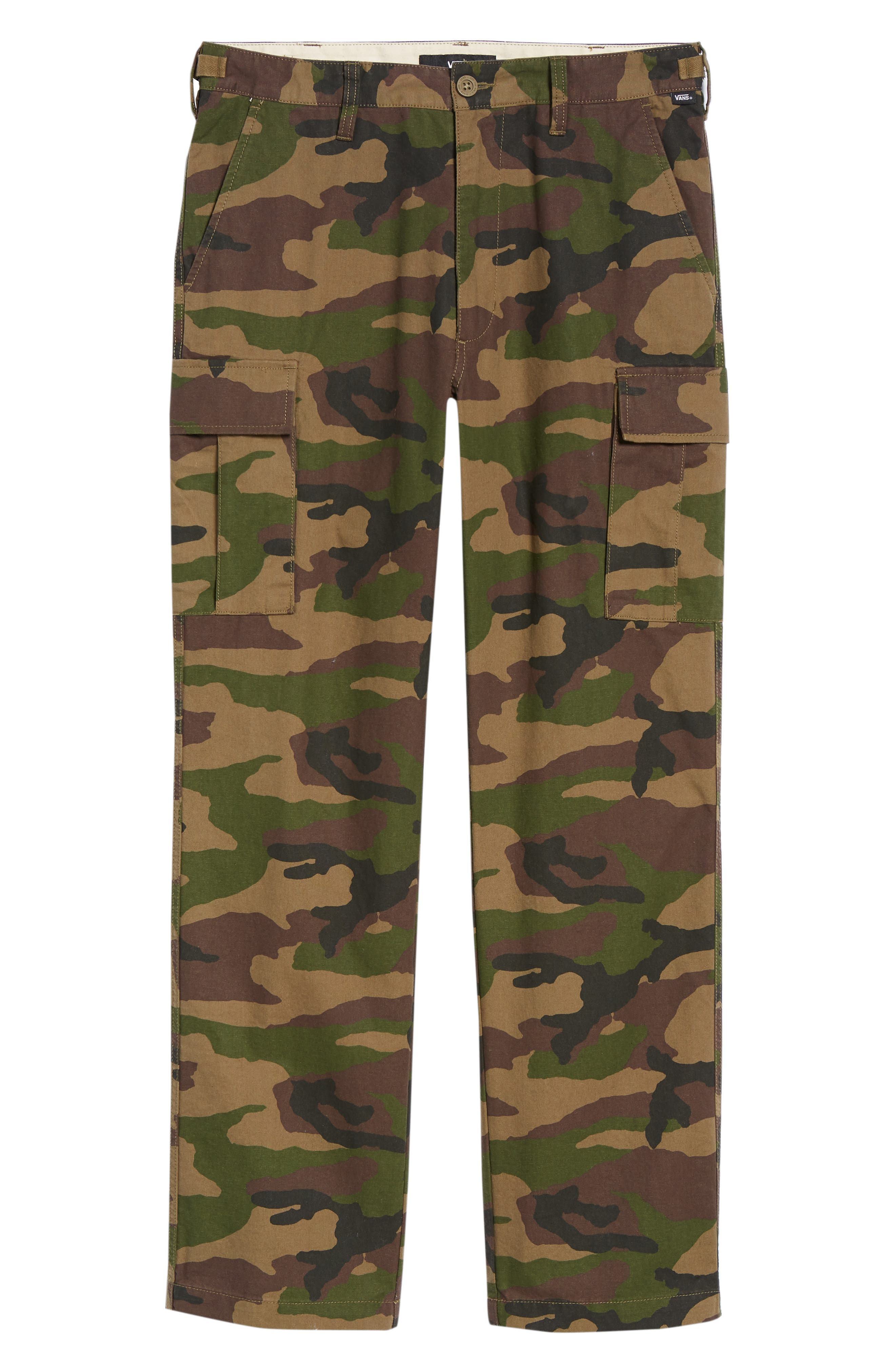Draft Regular Fit Cargo Pants,                             Alternate thumbnail 6, color,                             CAMO