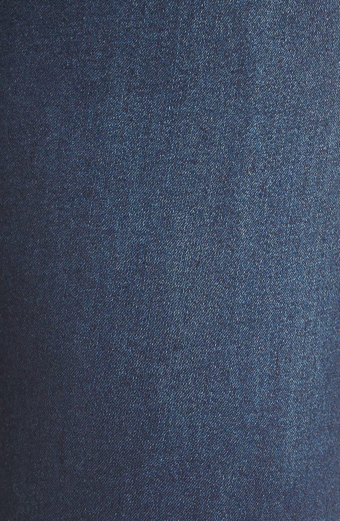DistressedSkinnyMaternity Jeans,                             Alternate thumbnail 4, color,                             400