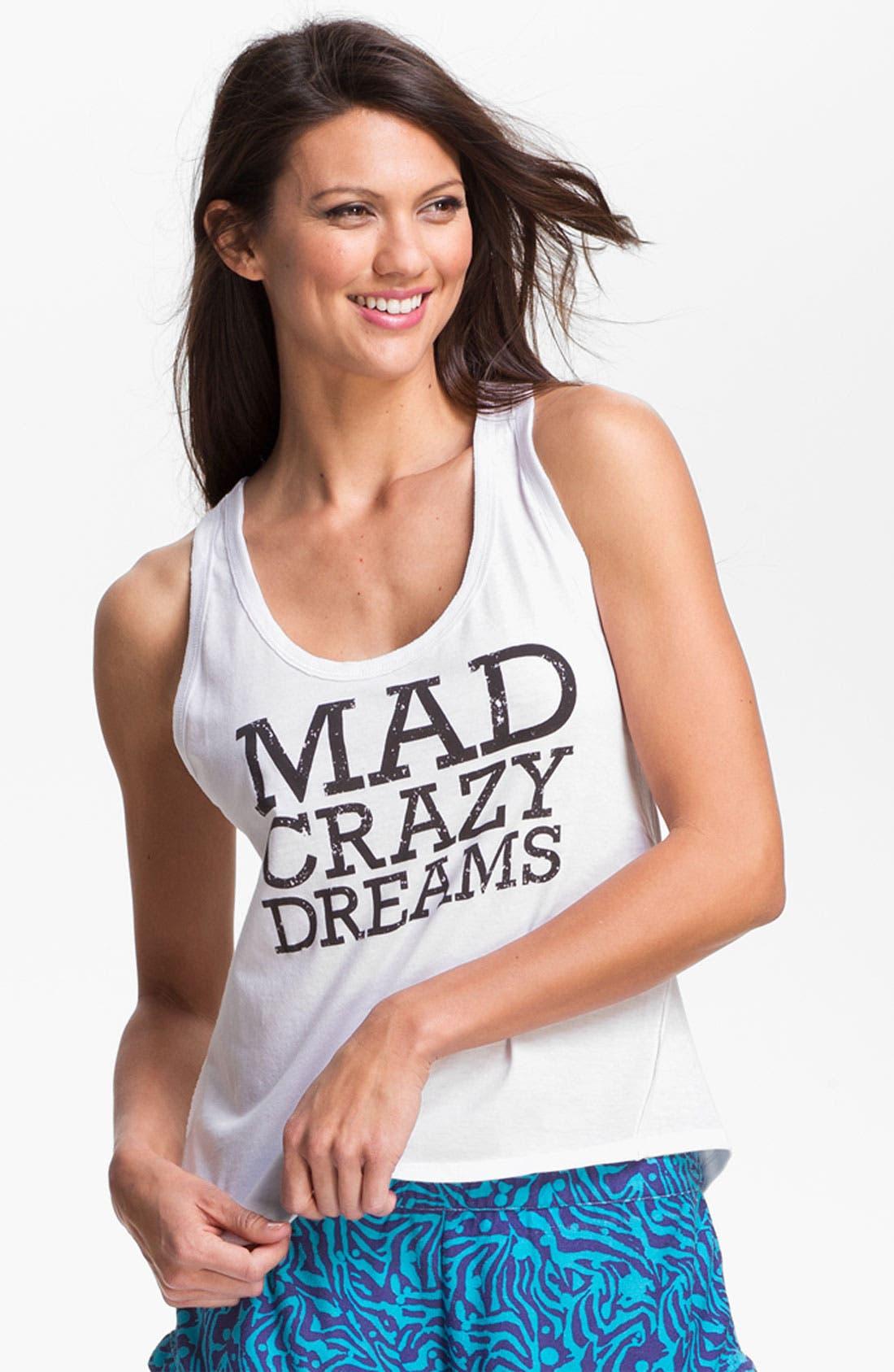 'Mad Crazy Dreams' Tank,                             Main thumbnail 3, color,