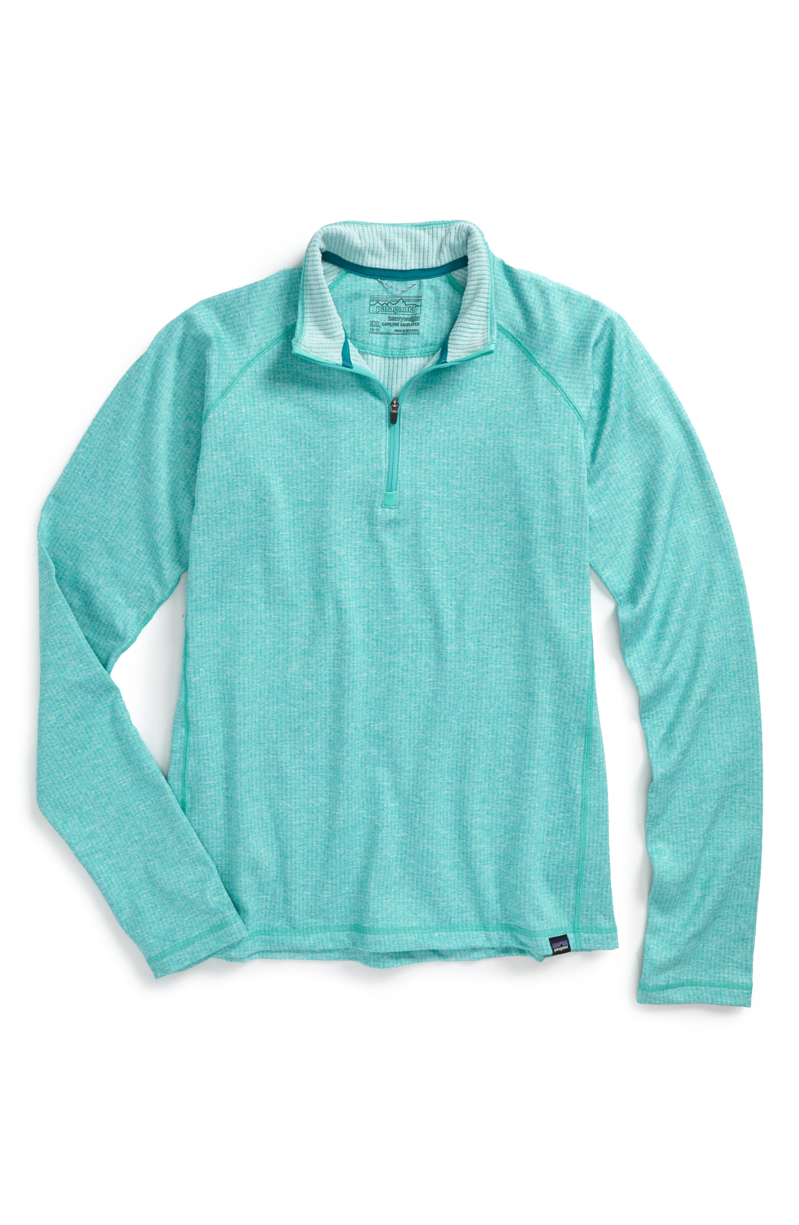 Capilene<sup>®</sup> Heavyweight Base Layer Pullover,                             Main thumbnail 1, color,
