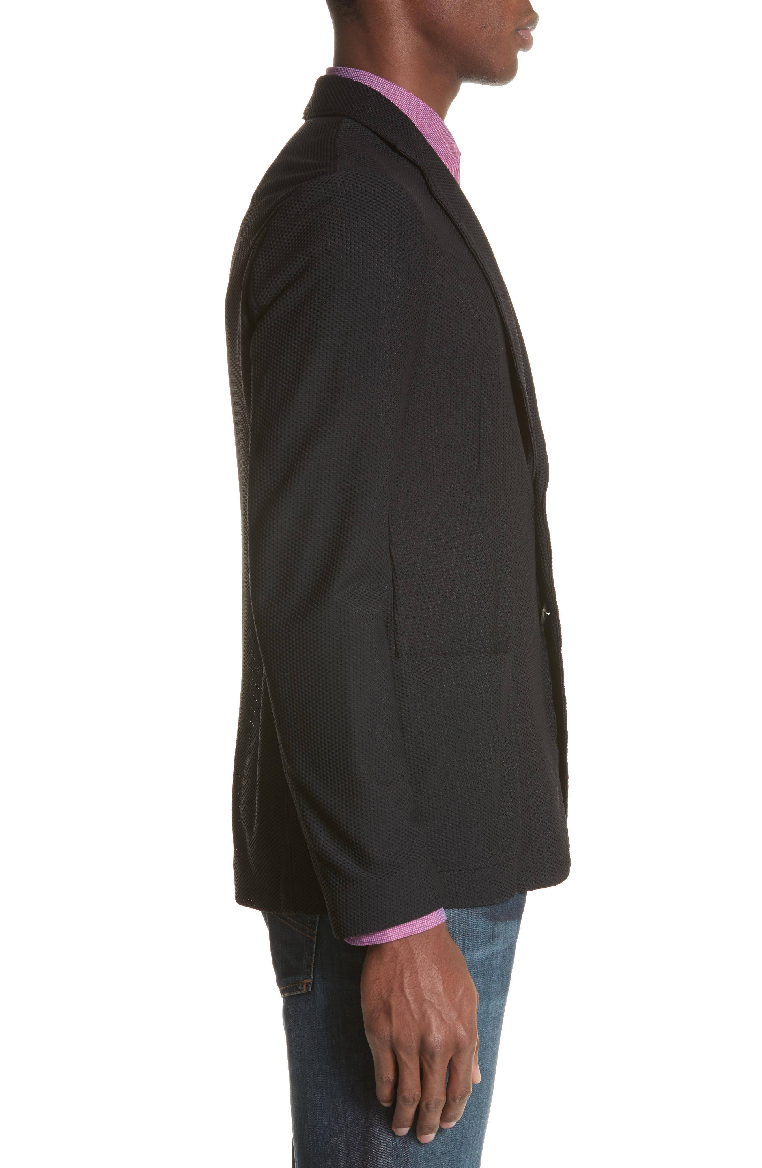 Regular Fit Stretch Blazer,                             Alternate thumbnail 3, color,                             004