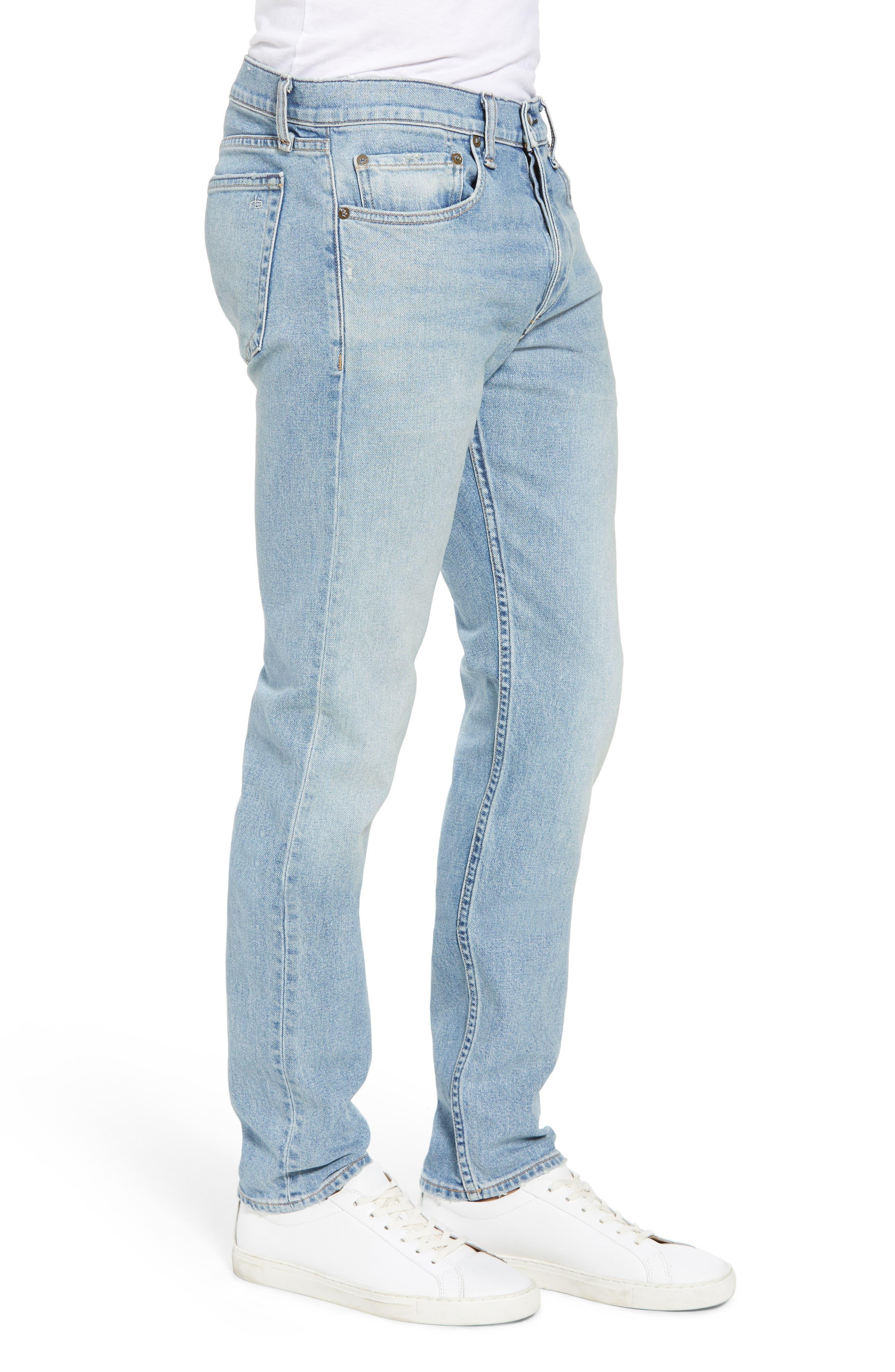 Fit 2 Slim Fit Jeans,                             Alternate thumbnail 3, color,                             400