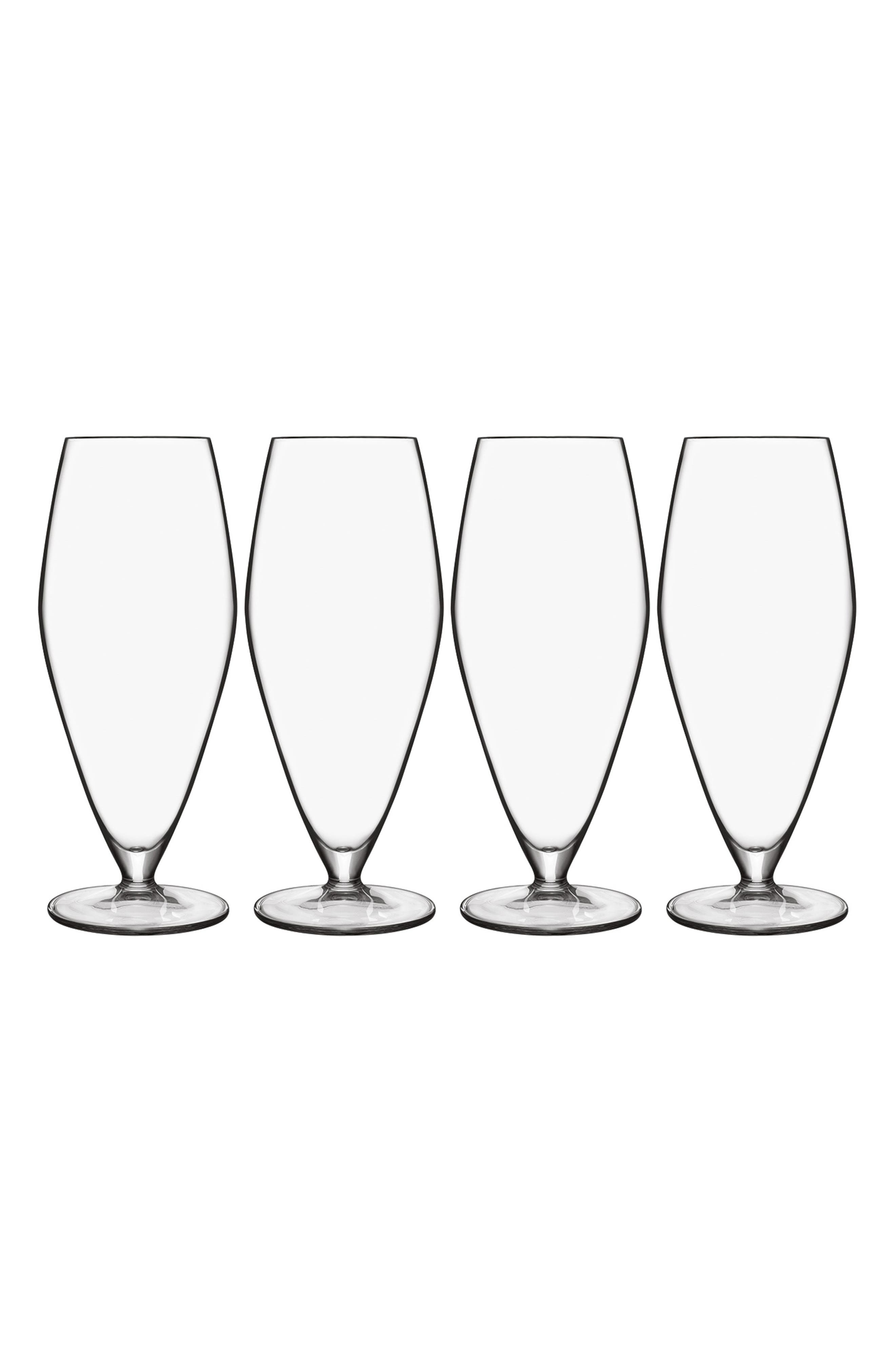 T-Glass Set of 4 Prosecco Glasses,                             Main thumbnail 1, color,                             100