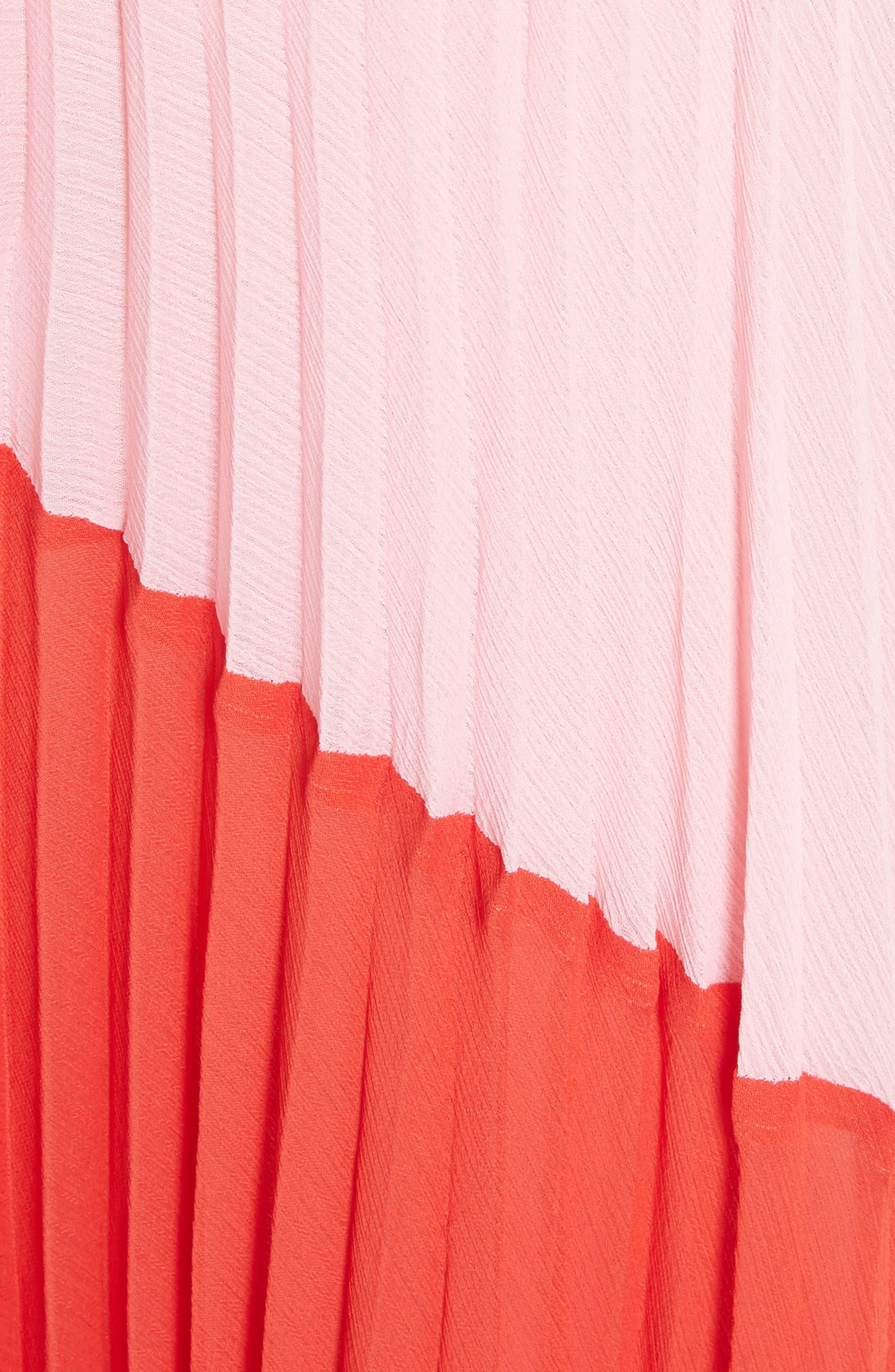 Tavi Colorblock Maxi Skirt,                             Alternate thumbnail 5, color,