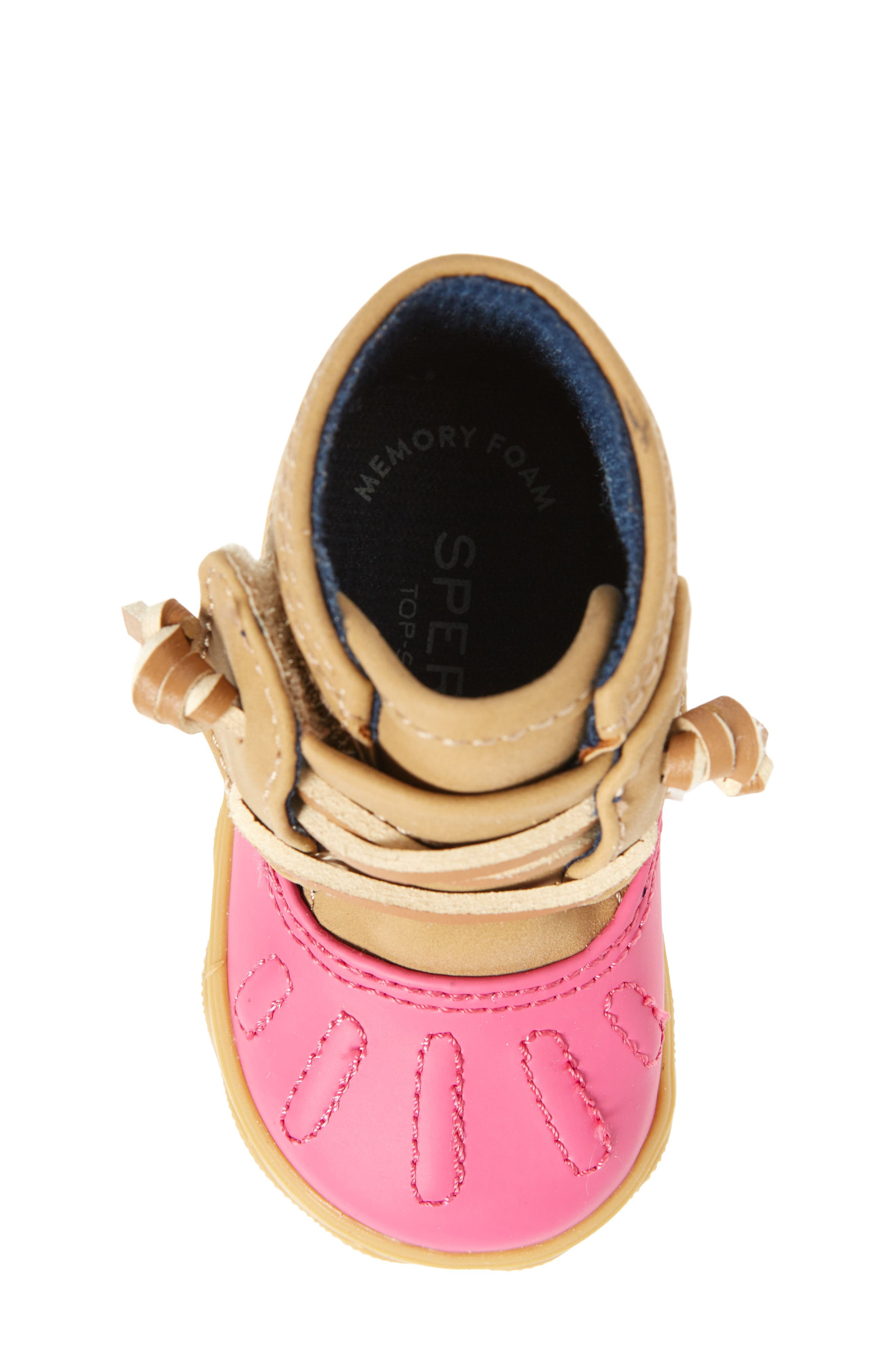 Sperry Icestorm Crib Duck Bootie,                             Alternate thumbnail 5, color,                             650