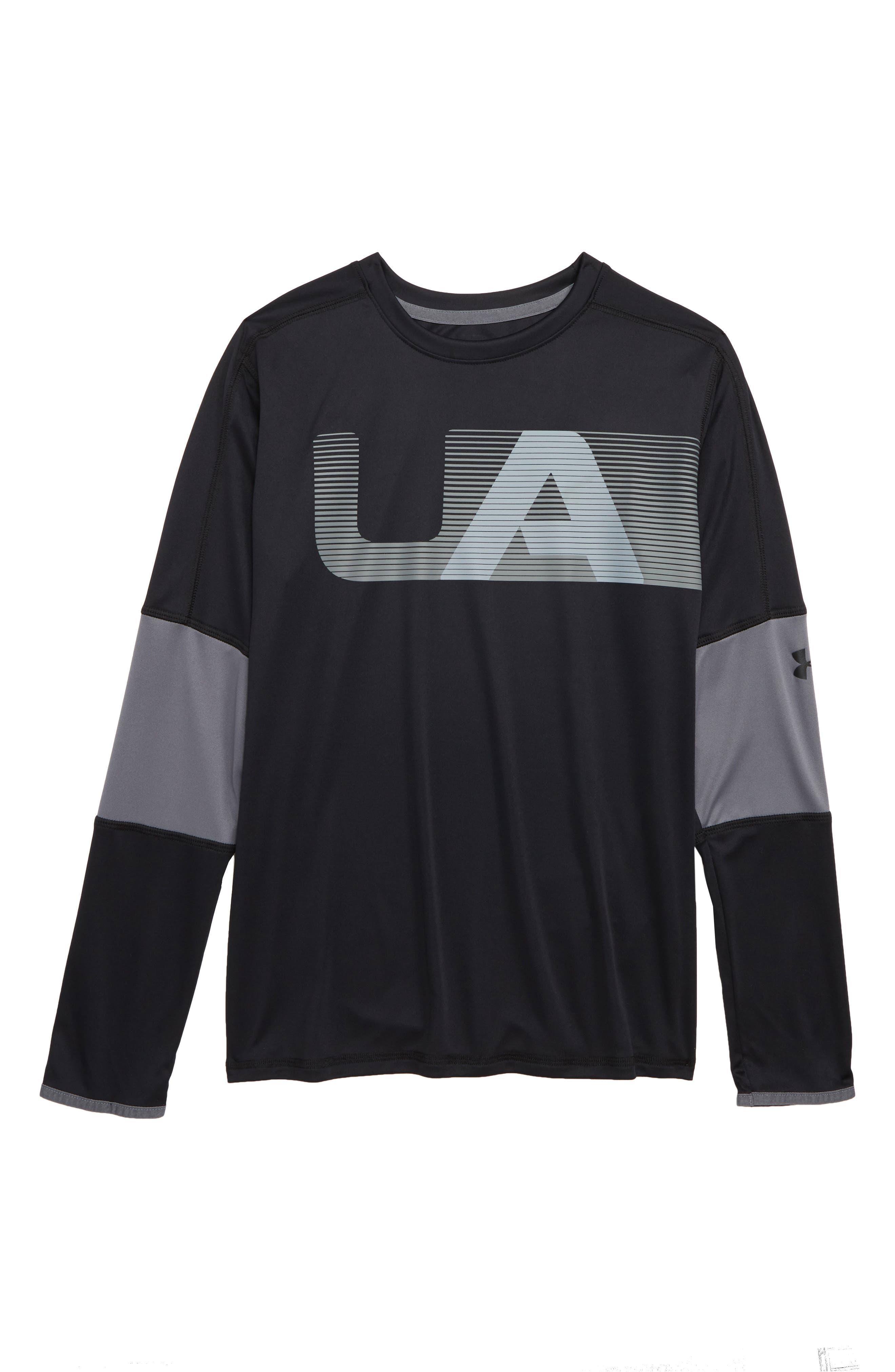 Tech<sup>™</sup> Logo T-Shirt,                         Main,                         color, BLACK / / BLACK
