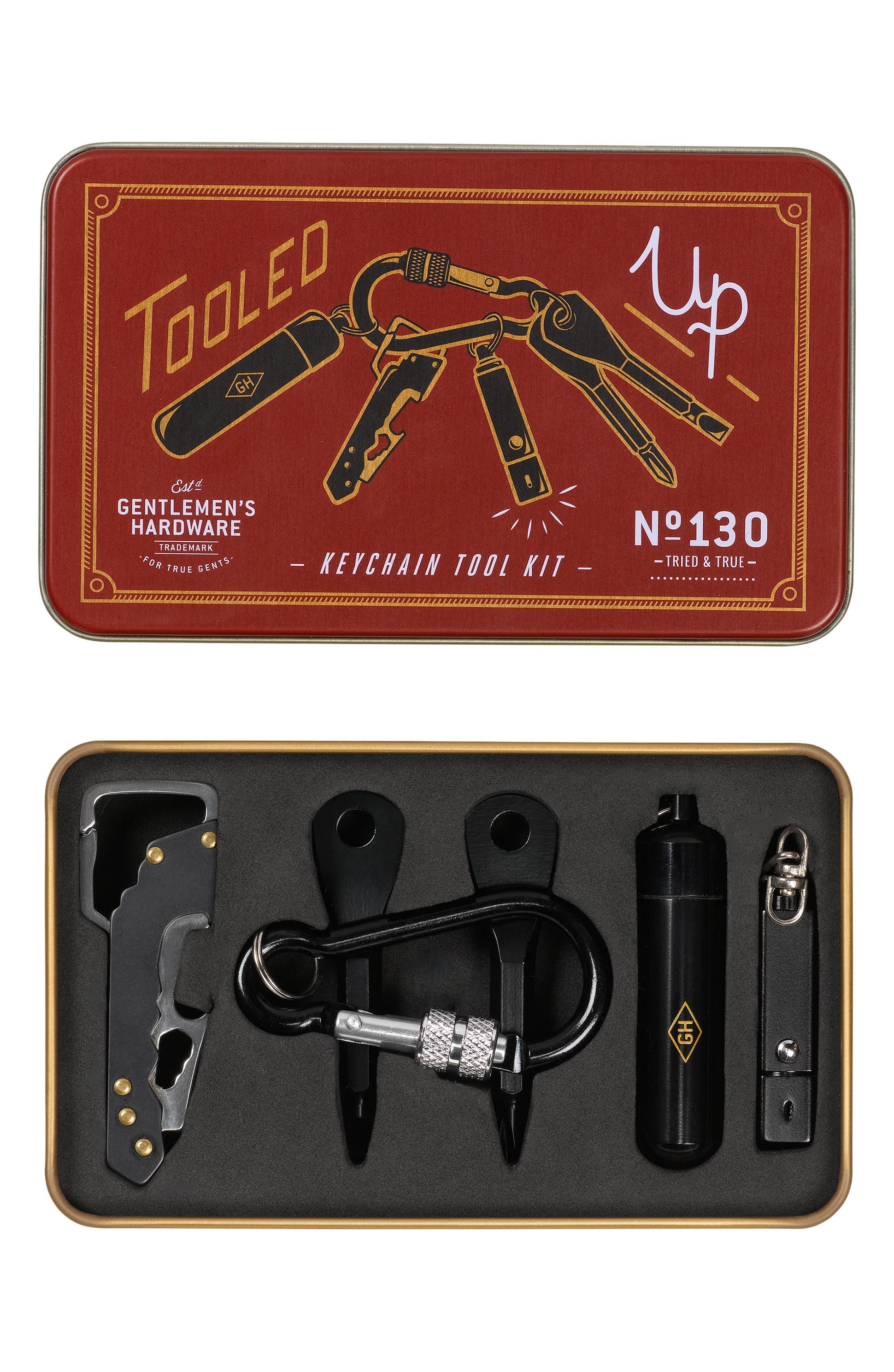 Gentlemen's Hardware - Keychain Tool Kit,                             Main thumbnail 1, color,                             600