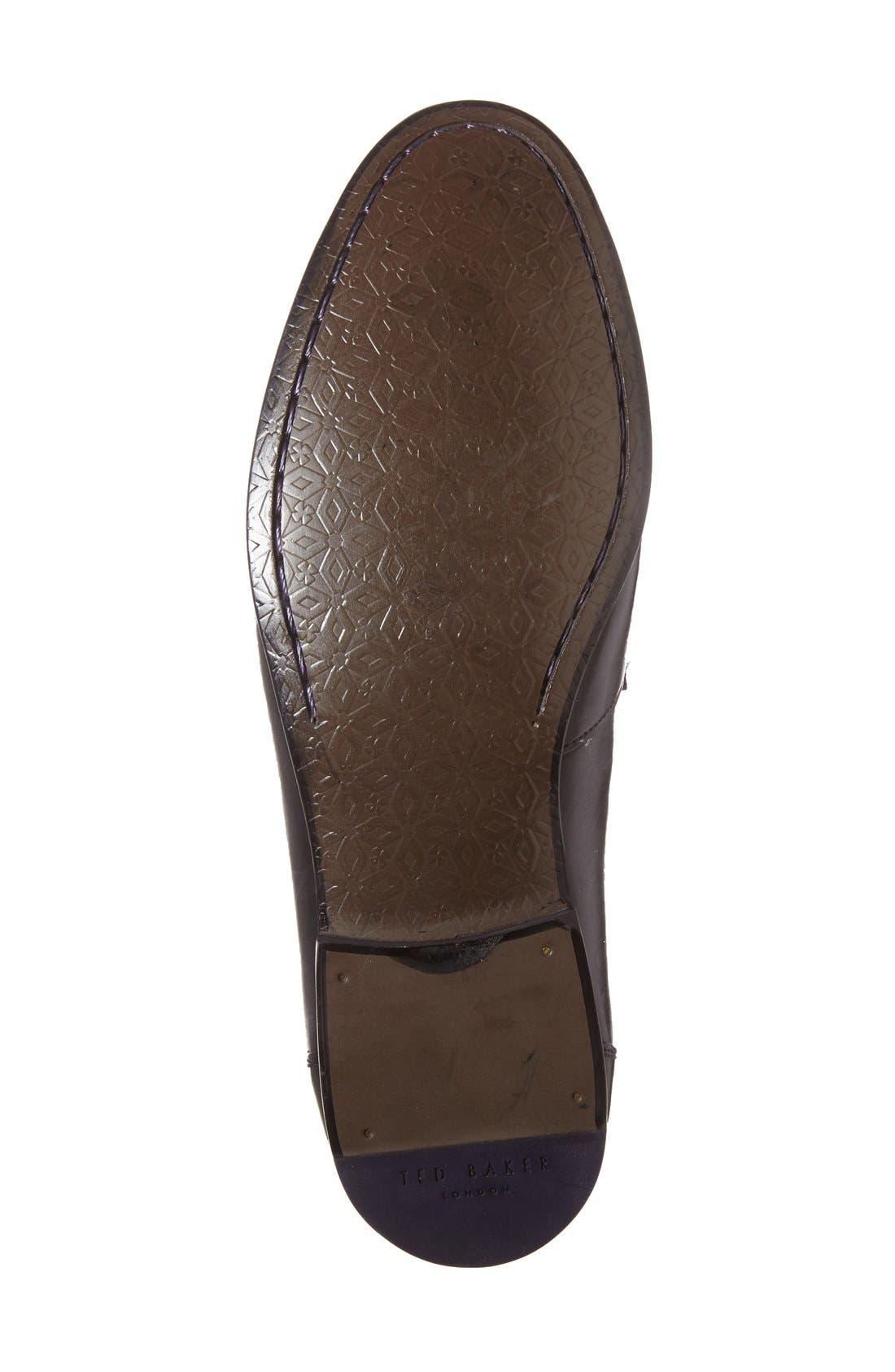 'Simeen 3' Venetian Loafer,                             Alternate thumbnail 3, color,                             001