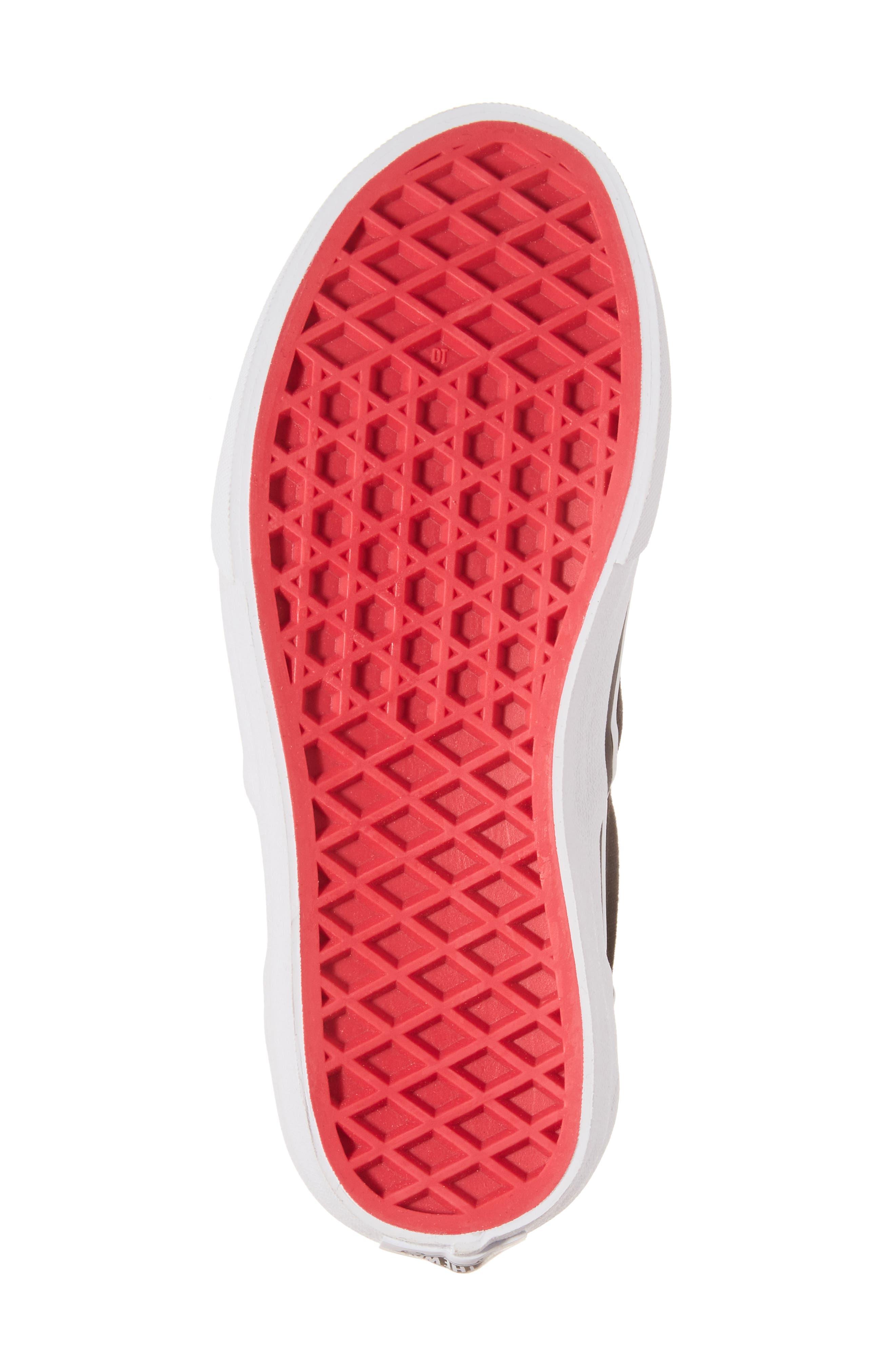 Classic Flower Slip-On Sneaker,                             Alternate thumbnail 6, color,                             001