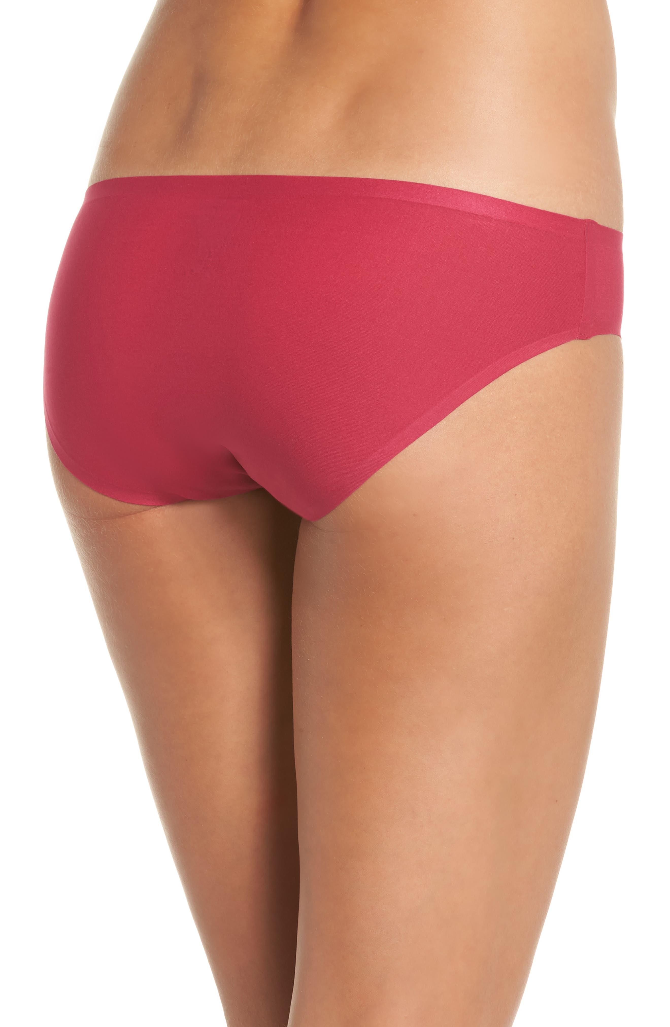 Soft Stretch Seamless Bikini,                             Alternate thumbnail 2, color,                             MAGENTA