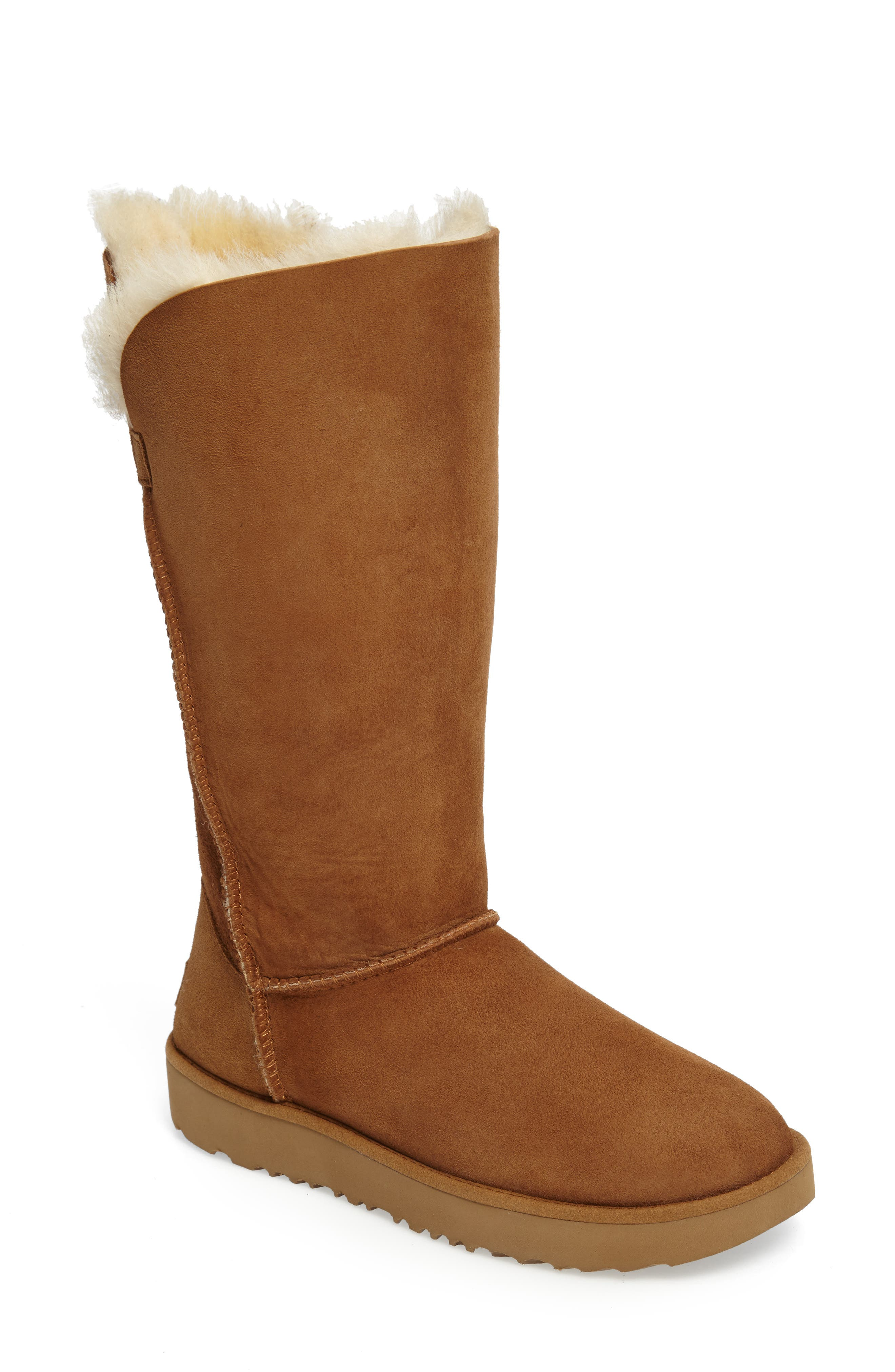 Classic Cuff Tall Boot,                             Alternate thumbnail 4, color,