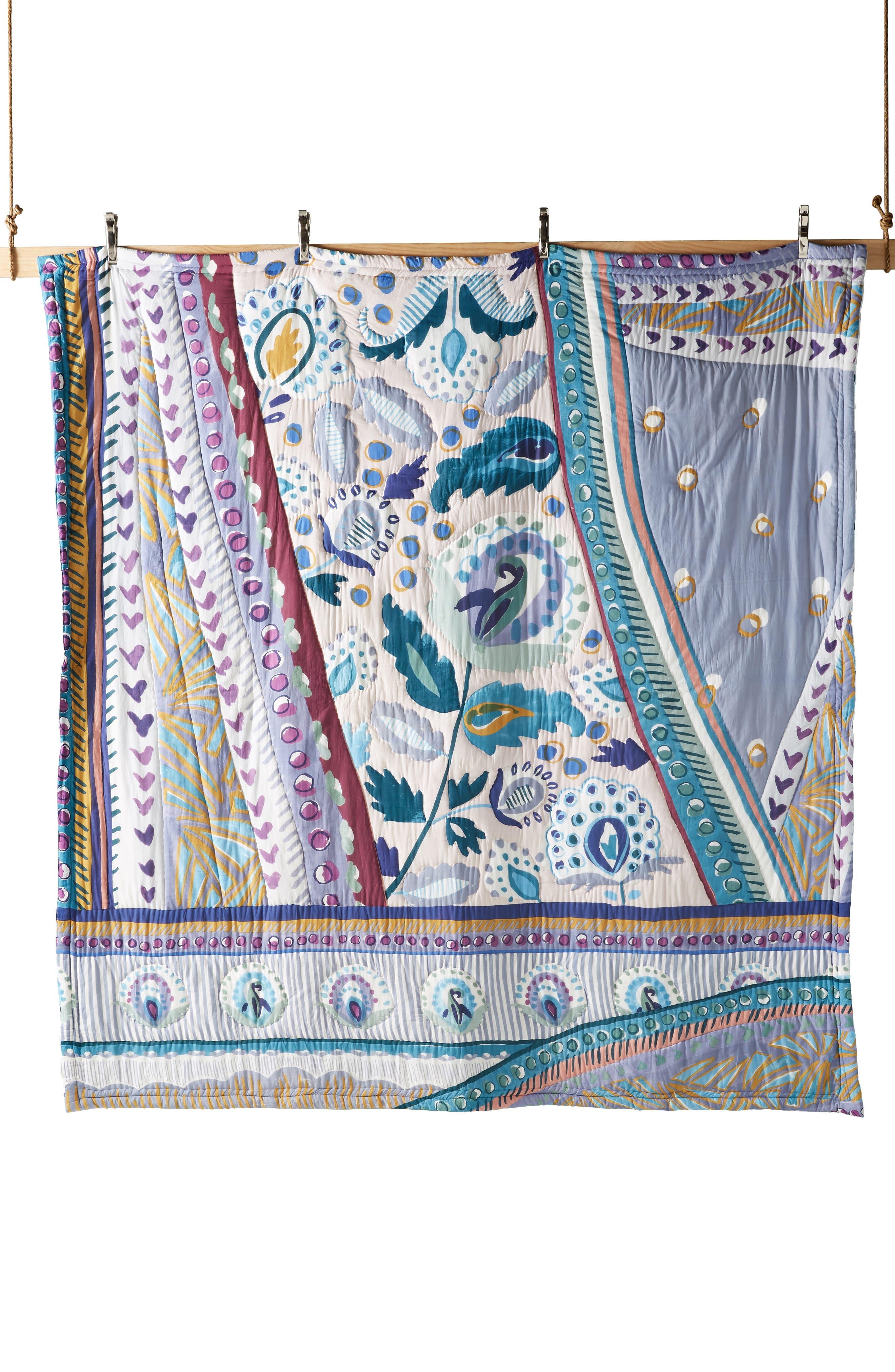 Sunder Quilt,                             Alternate thumbnail 5, color,                             BLUE