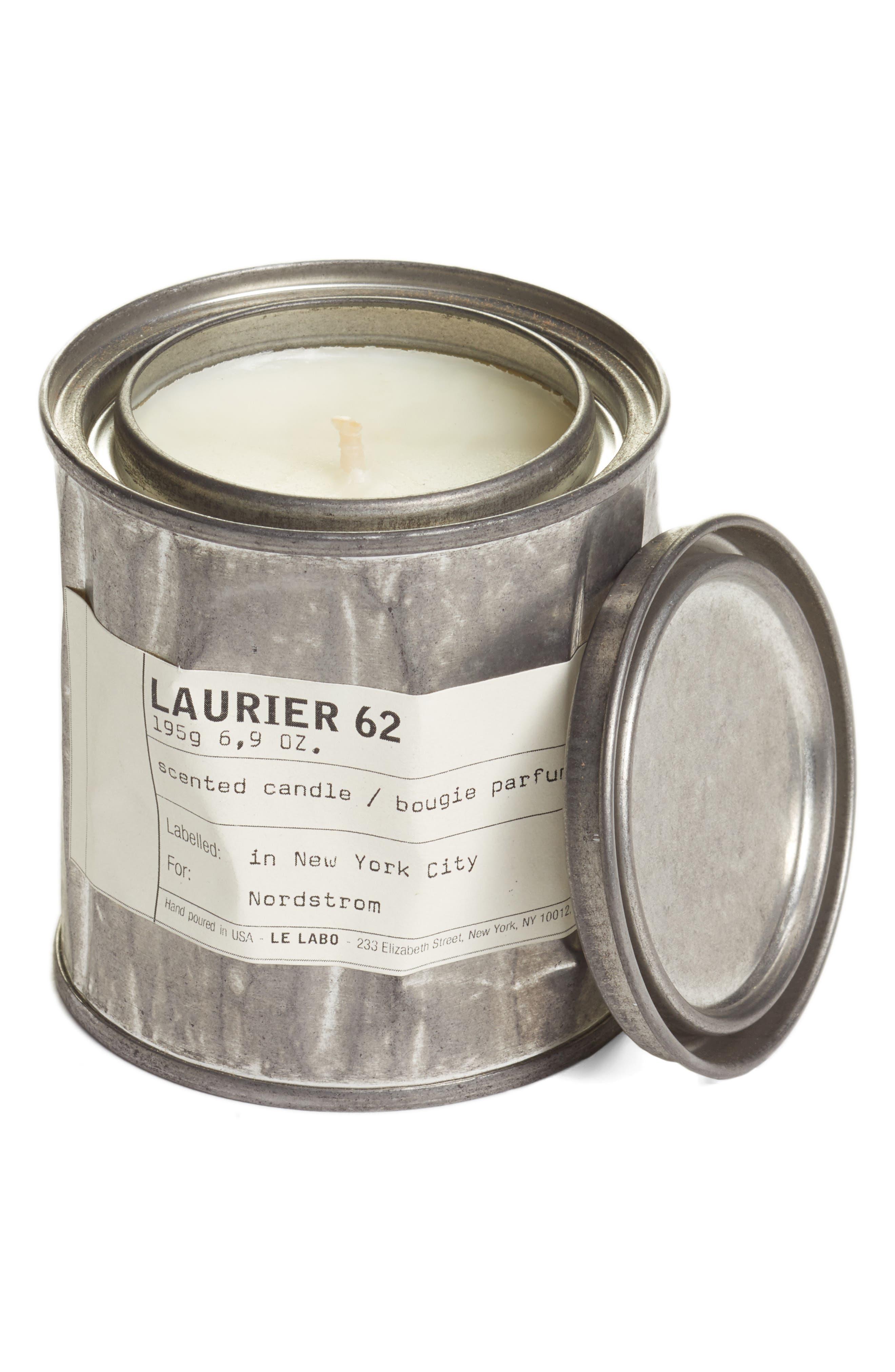 'Laurier 62' Vintage Candle Tin,                             Alternate thumbnail 4, color,                             NO COLOR