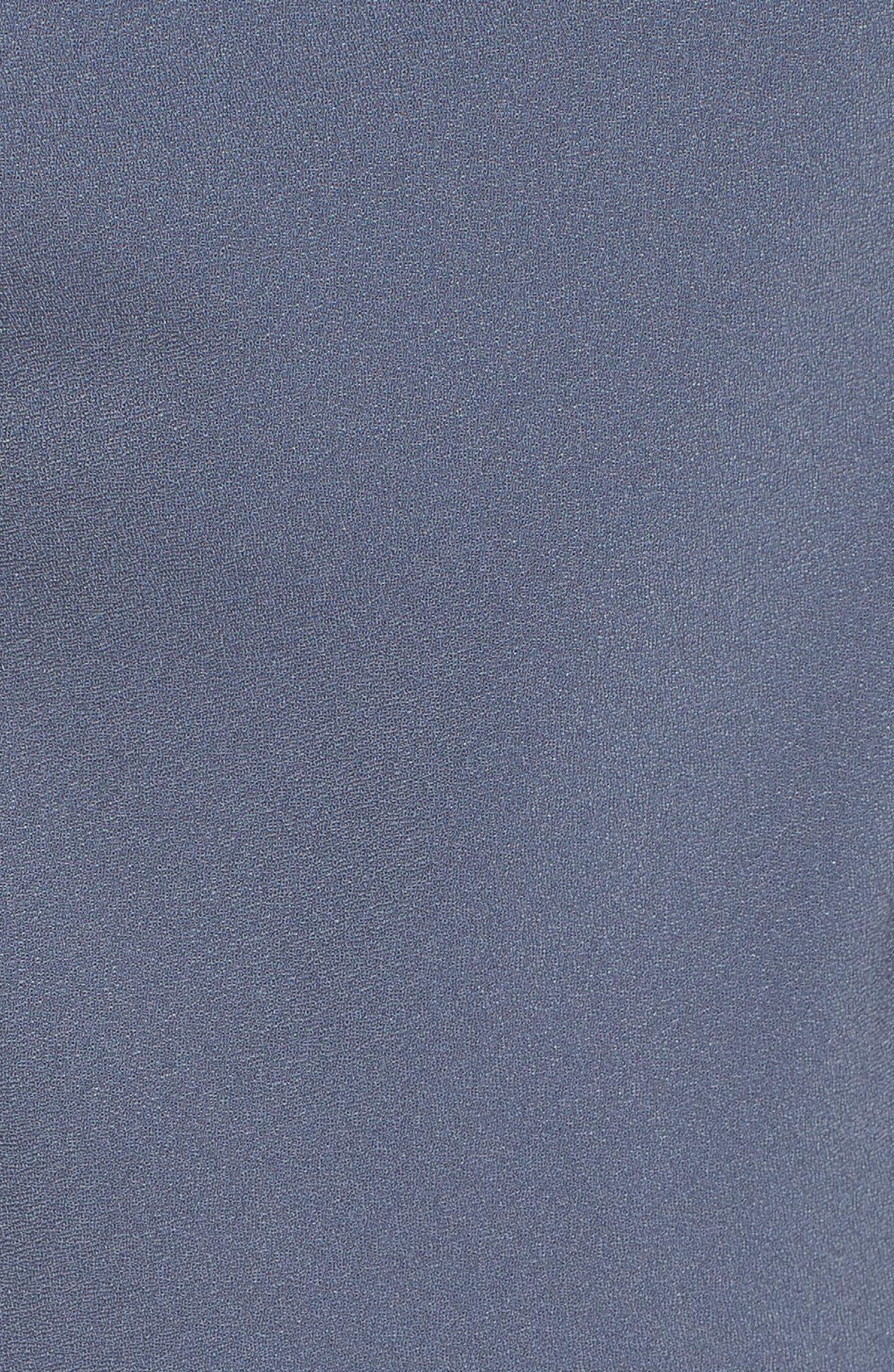 Cowl Neck Midi Dress,                             Alternate thumbnail 5, color,                             030