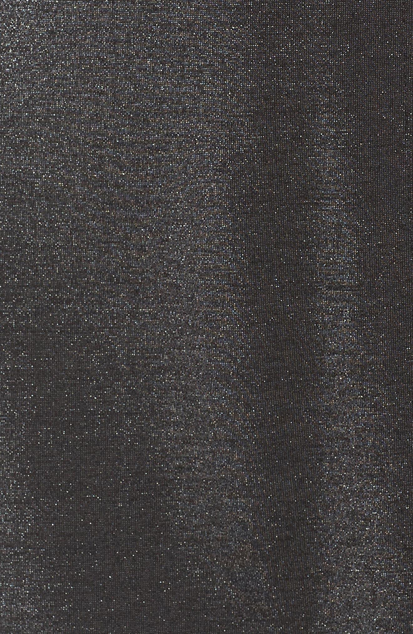Arlene Faux Wrap Dress,                             Alternate thumbnail 6, color,                             007