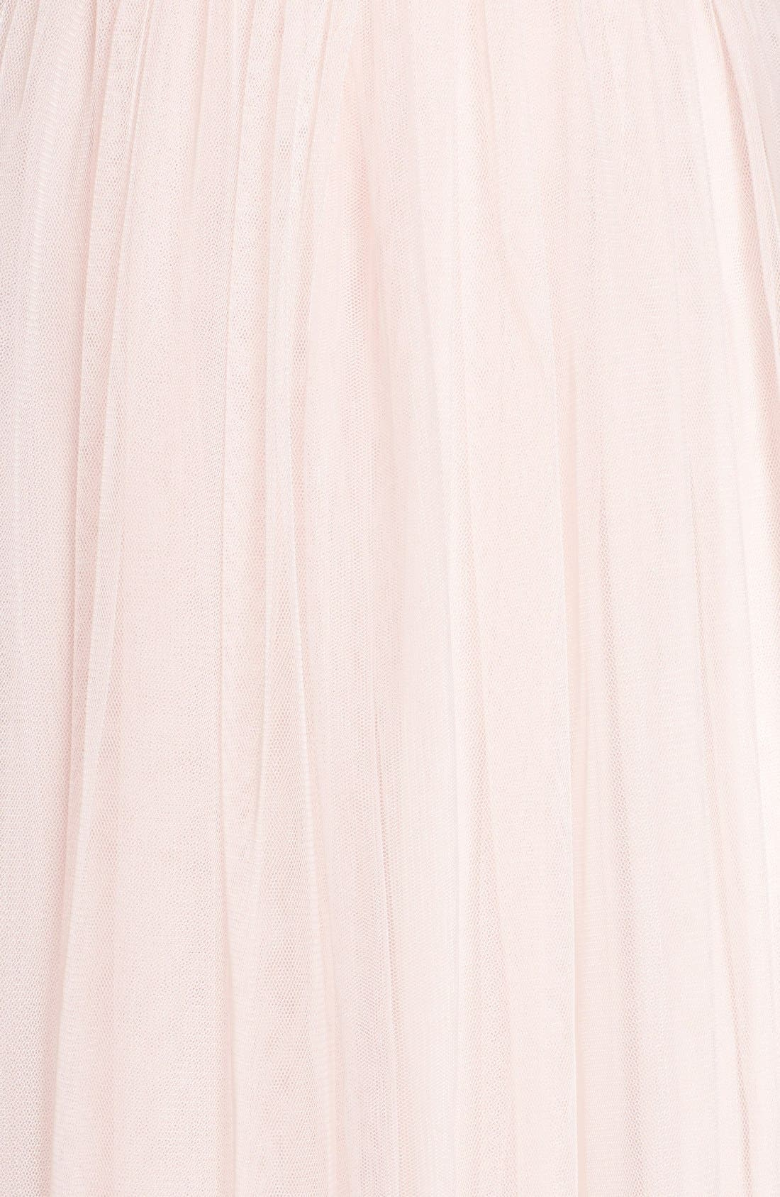 Convertible Strap Tulle Gown,                             Alternate thumbnail 8, color,