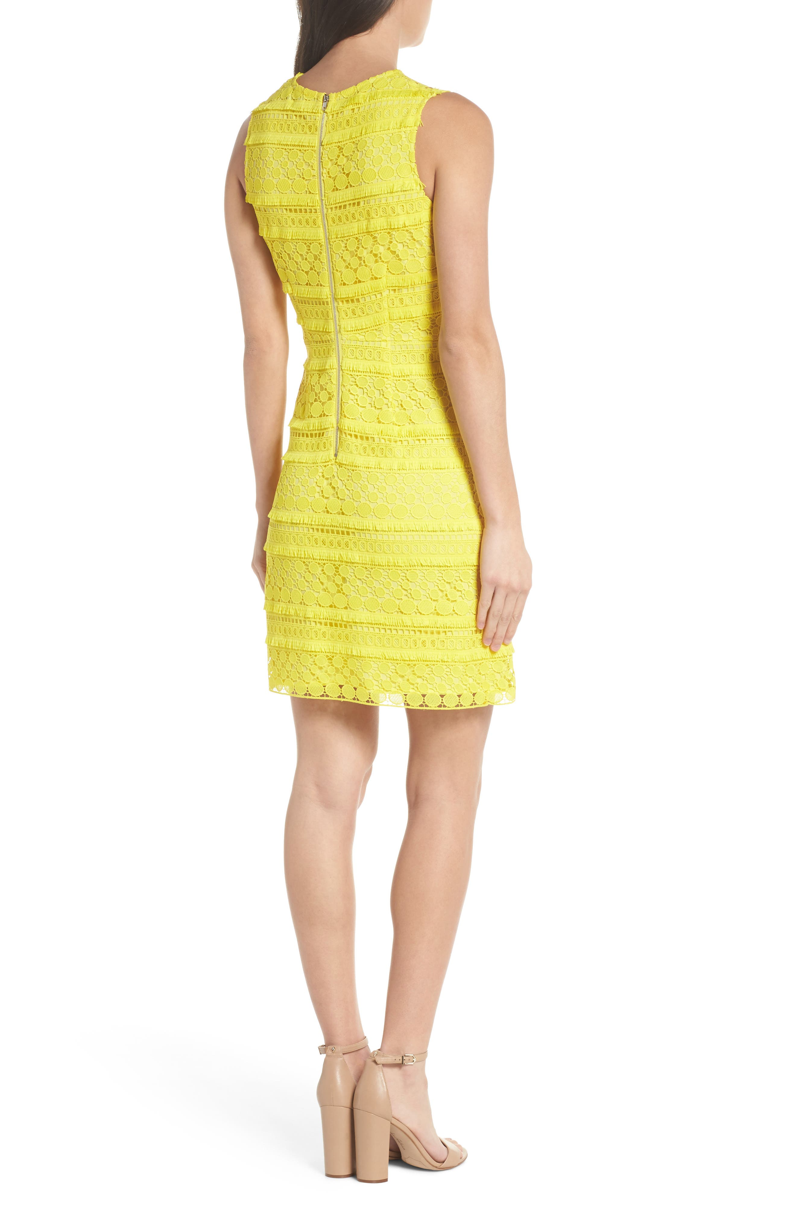 Lace Sheath Dress,                             Alternate thumbnail 2, color,                             737