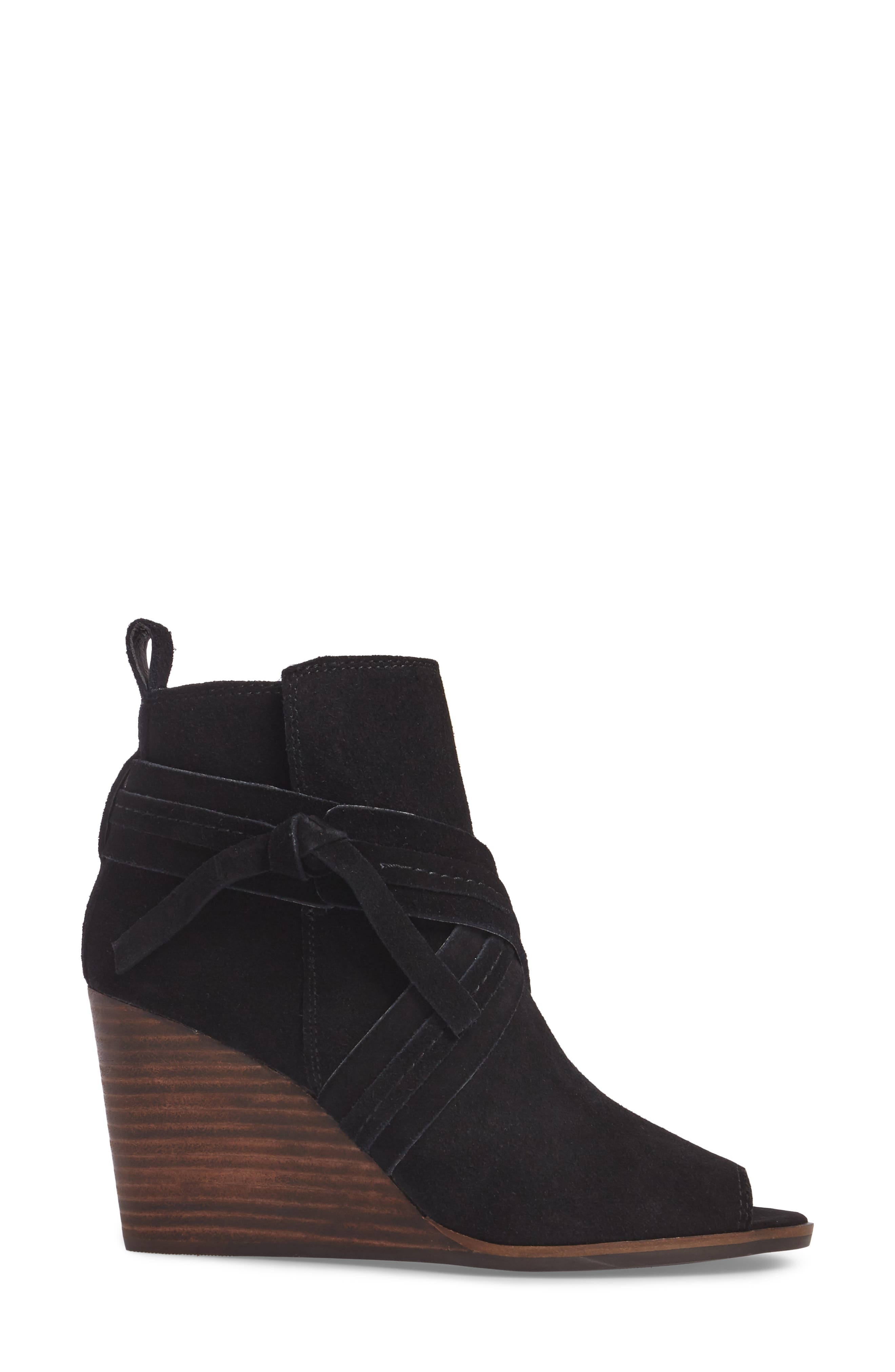 Udom Wedge Bootie,                             Alternate thumbnail 3, color,                             001